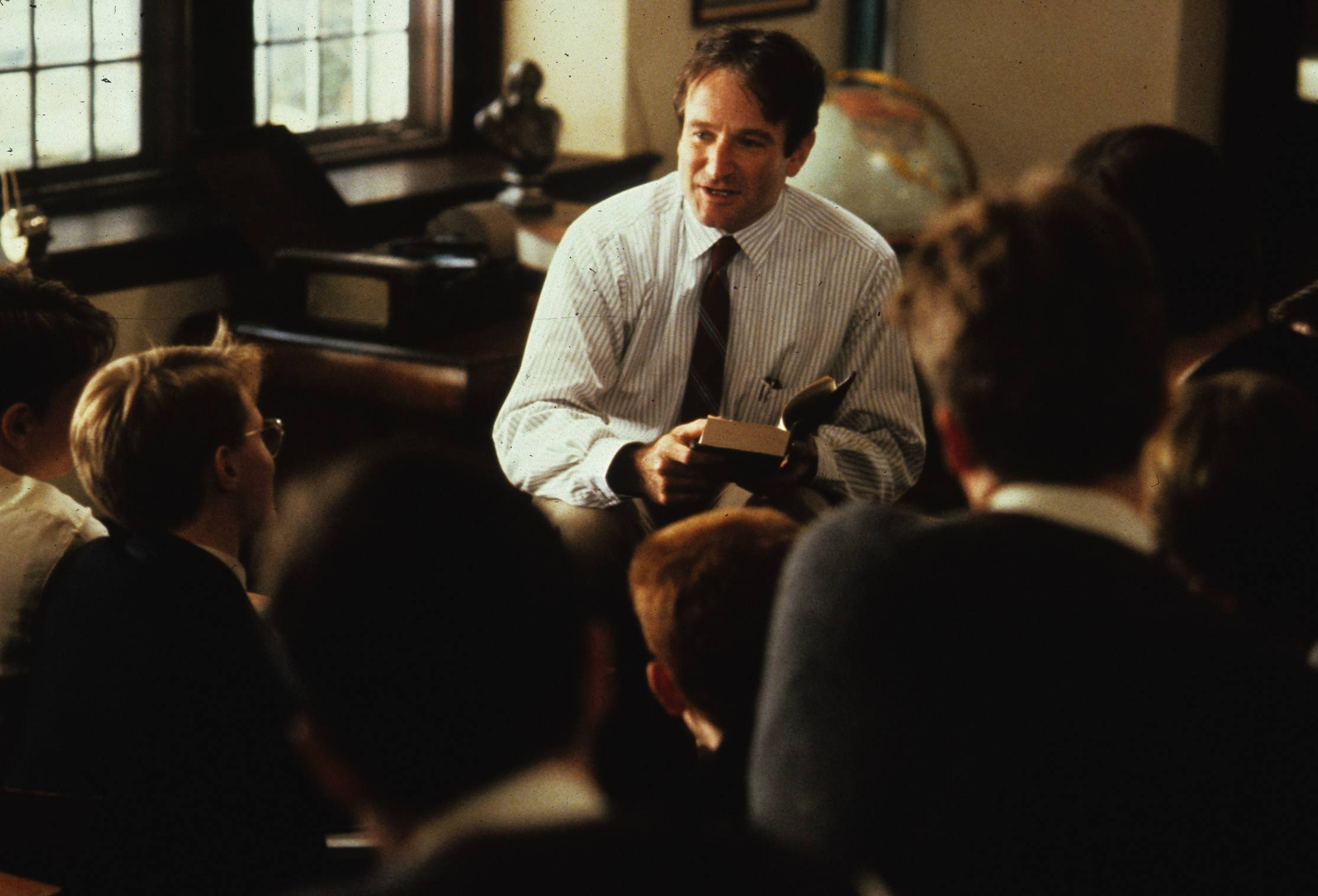 "If you think of the great teachers in movie history, John Keating (Robin Williams) in ""Dead Poets Society"" will almost certainly be near the top of your list. But who says great teachers have to be confined to a classroom?"