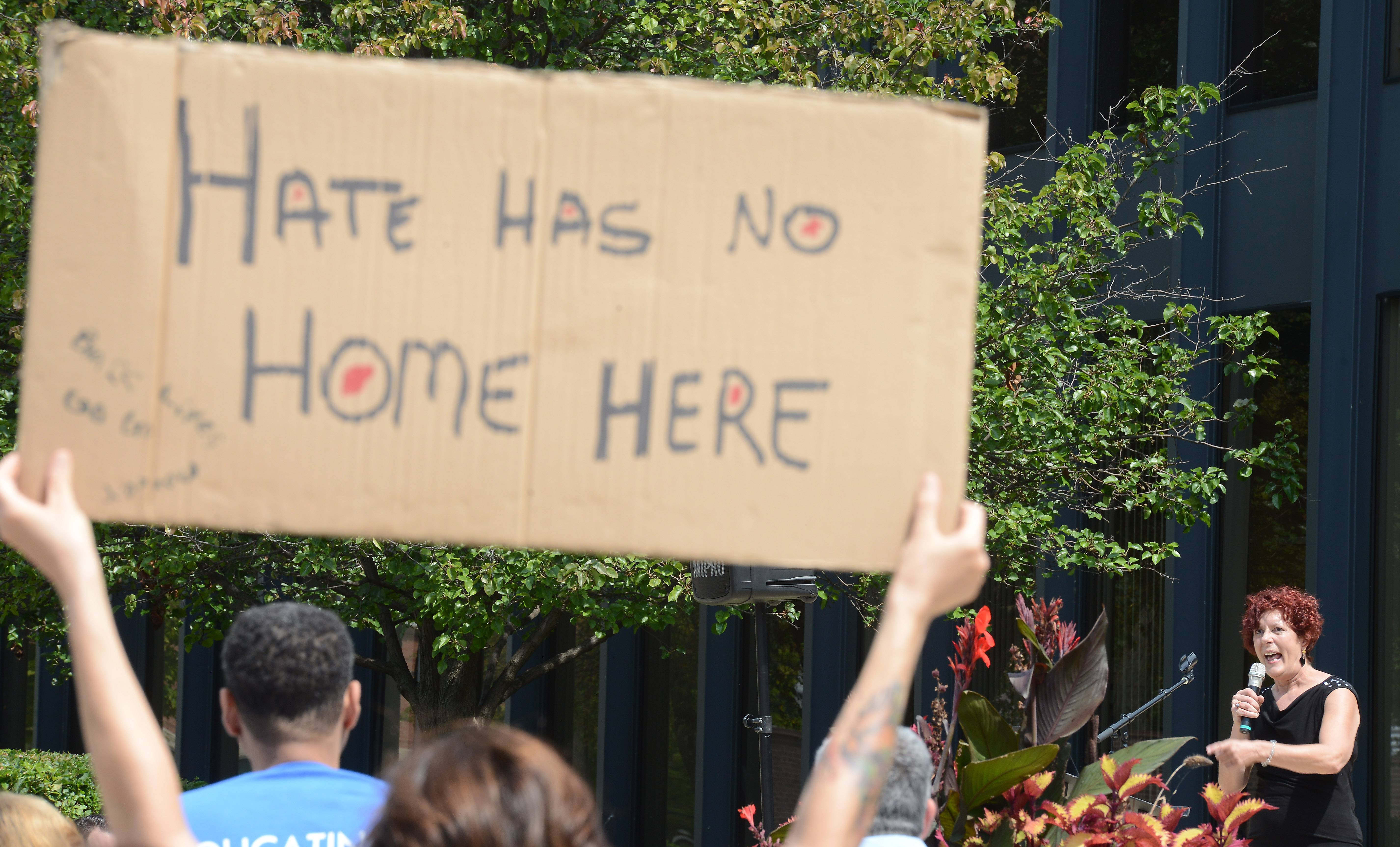 Elgin rally against hate urges residents to 'Be an Upstander'