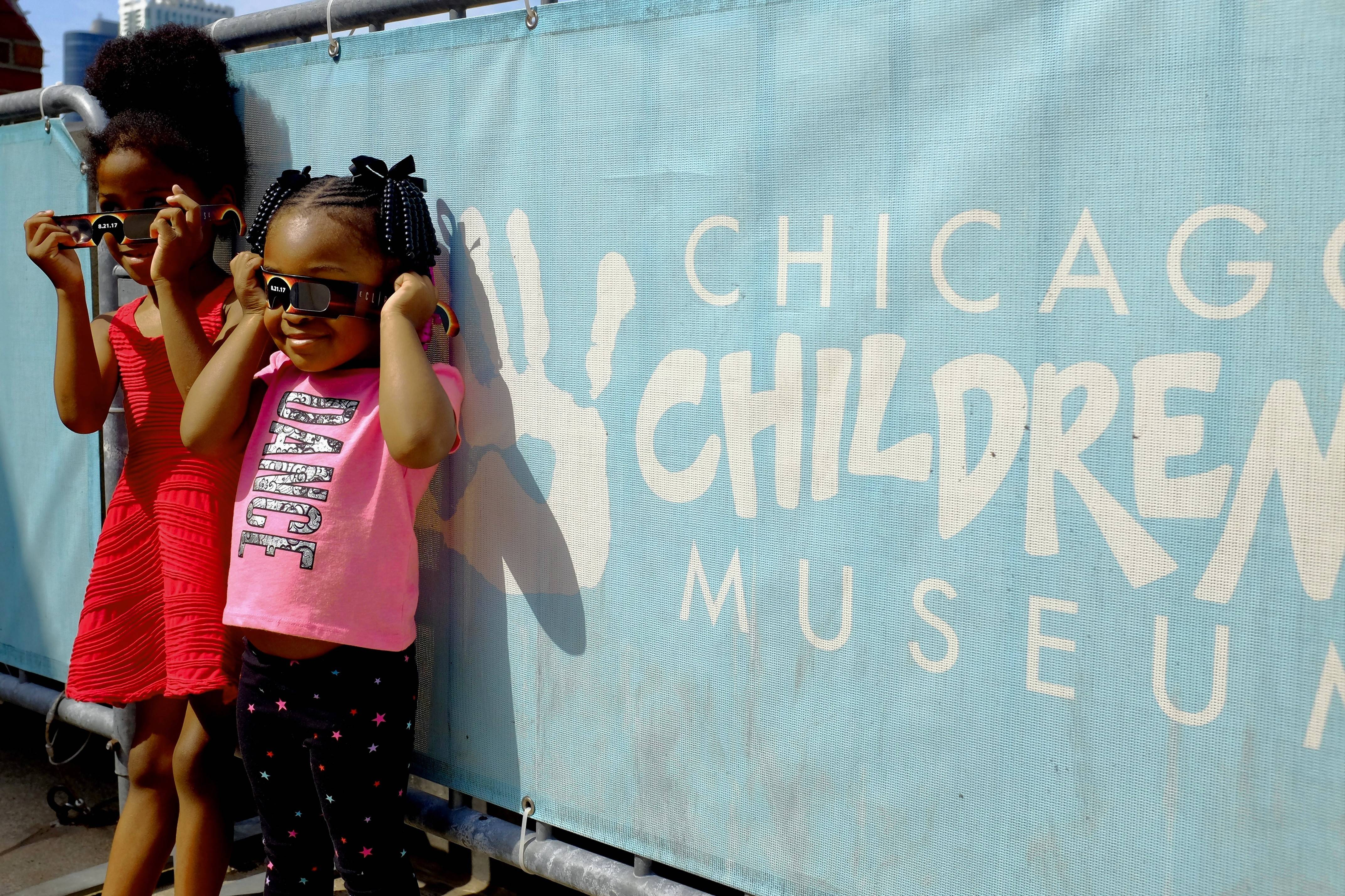 Take in the partial solar eclipse with your kids Monday, Aug. 21, at the Chicago Children's Museum, which holds special eclipse viewing and programming from 11 a.m. to 2:30 p.m.