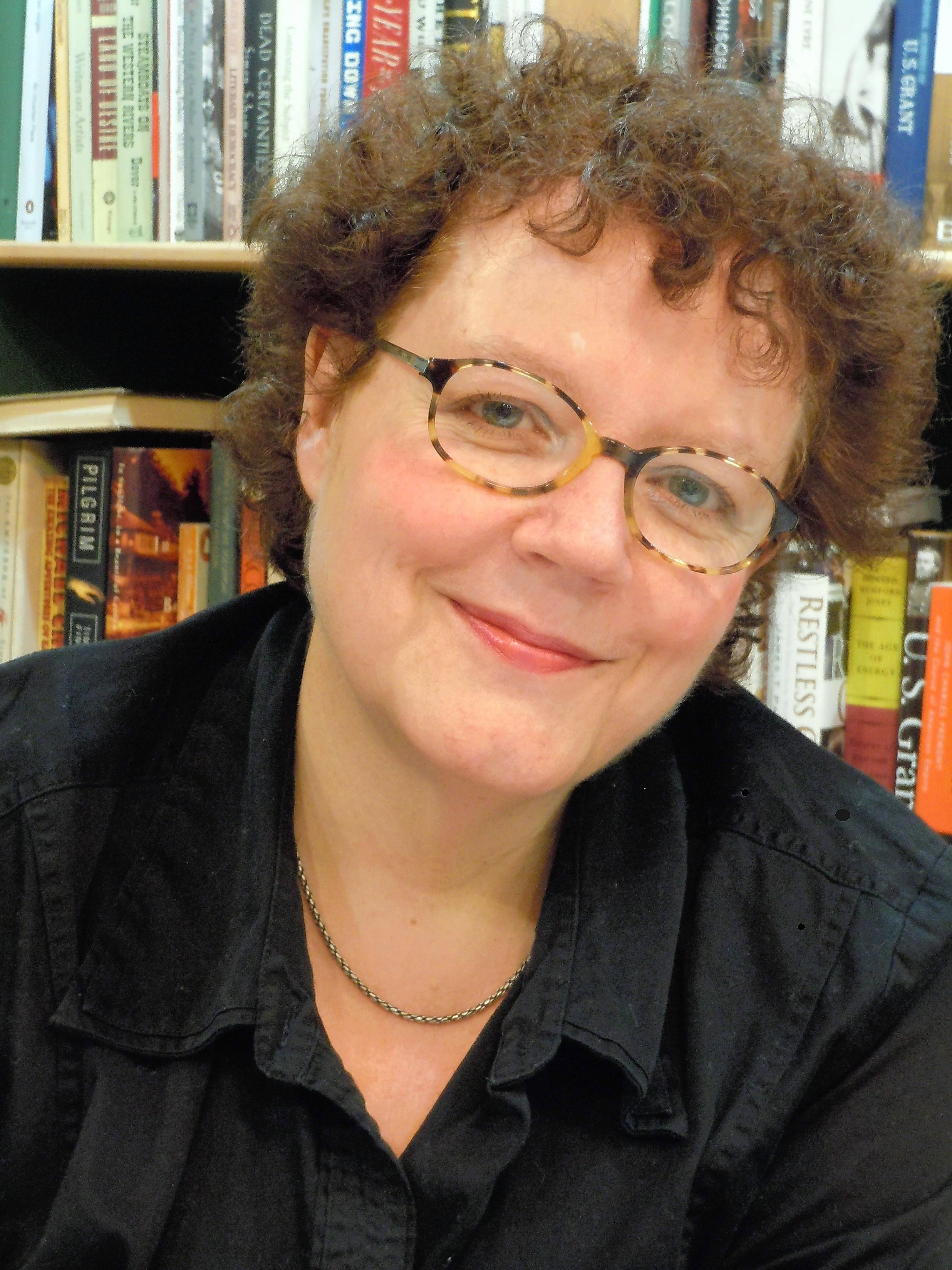 Pulitzer Prize-winner Julia Keller signs copies of her newest crime-fiction title Wednesday, Aug. 23, at Anderson's Bookshop in Naperville.