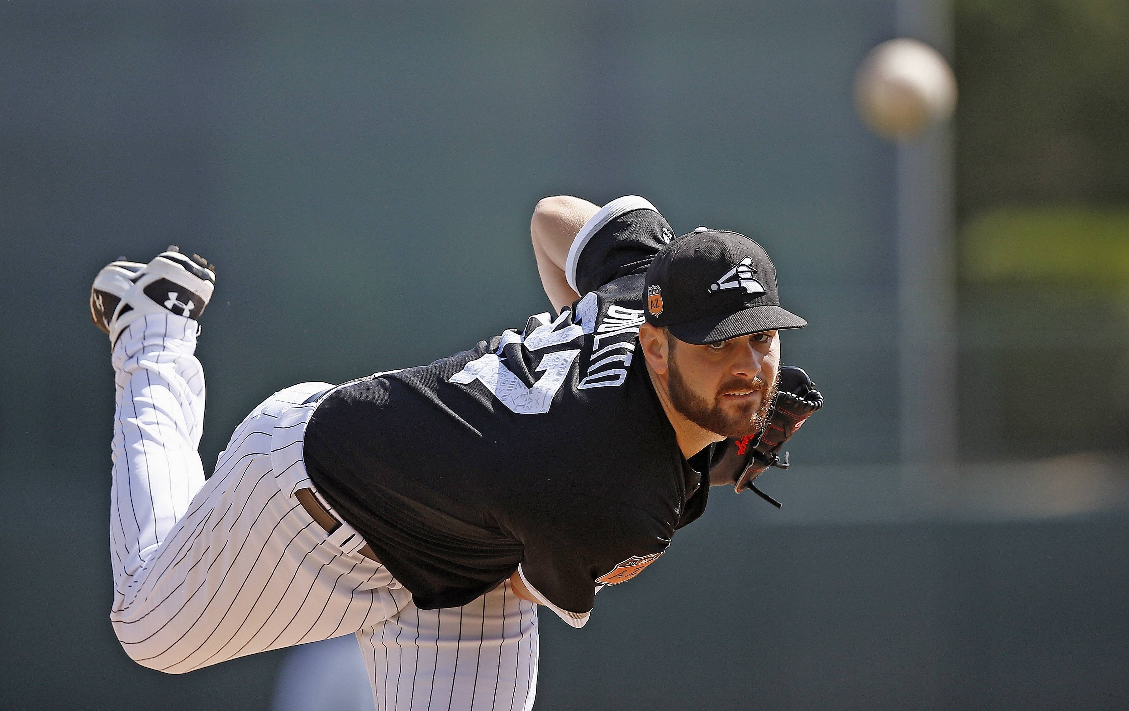 Associated Press File Photo/March 2017 Chicago White Sox Lucas Giolito is scheduled to join the rotation and start Tuesday against the Minnesota Twins.