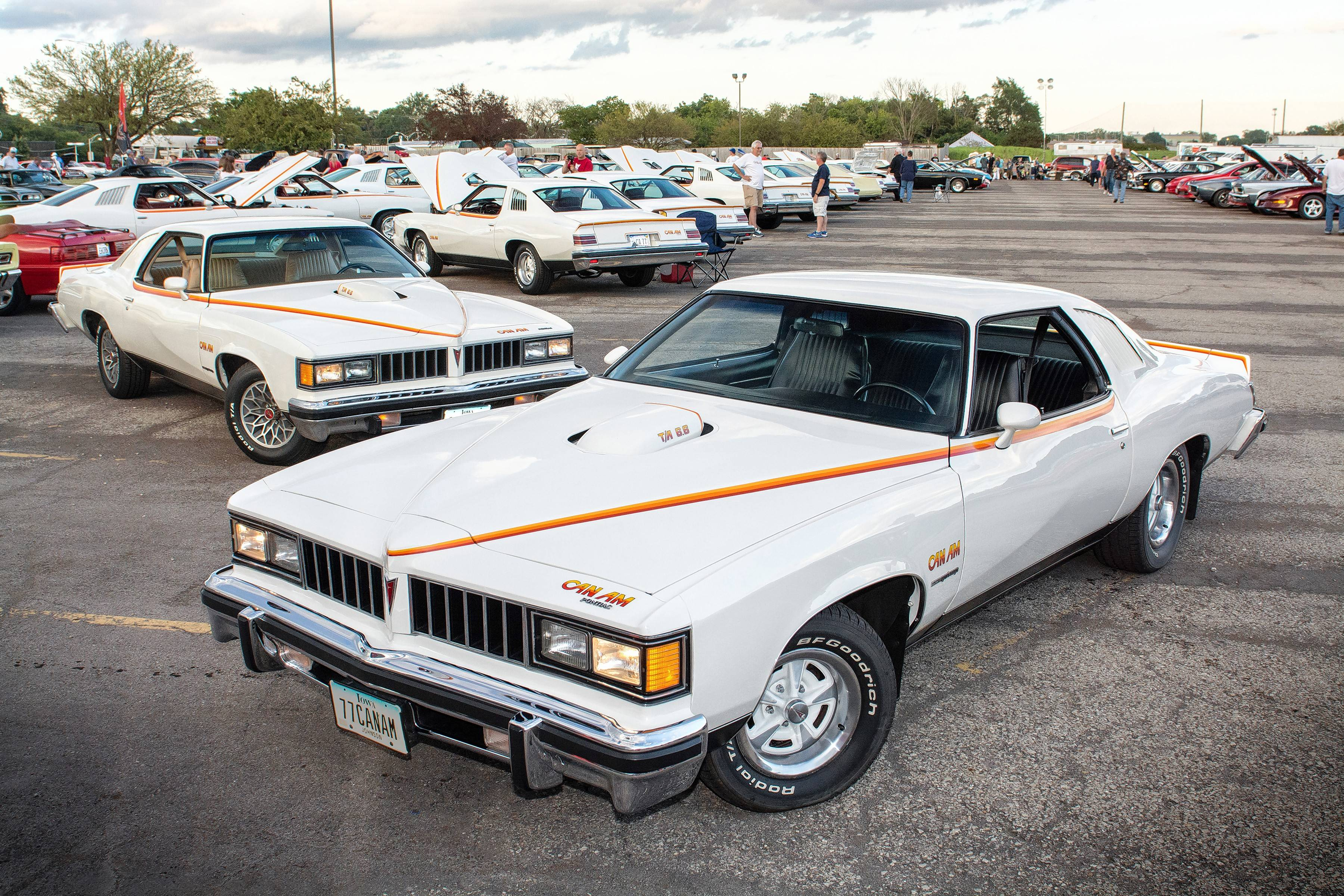 A whole lot of attraction going on at Indian Uprising Pontiac show