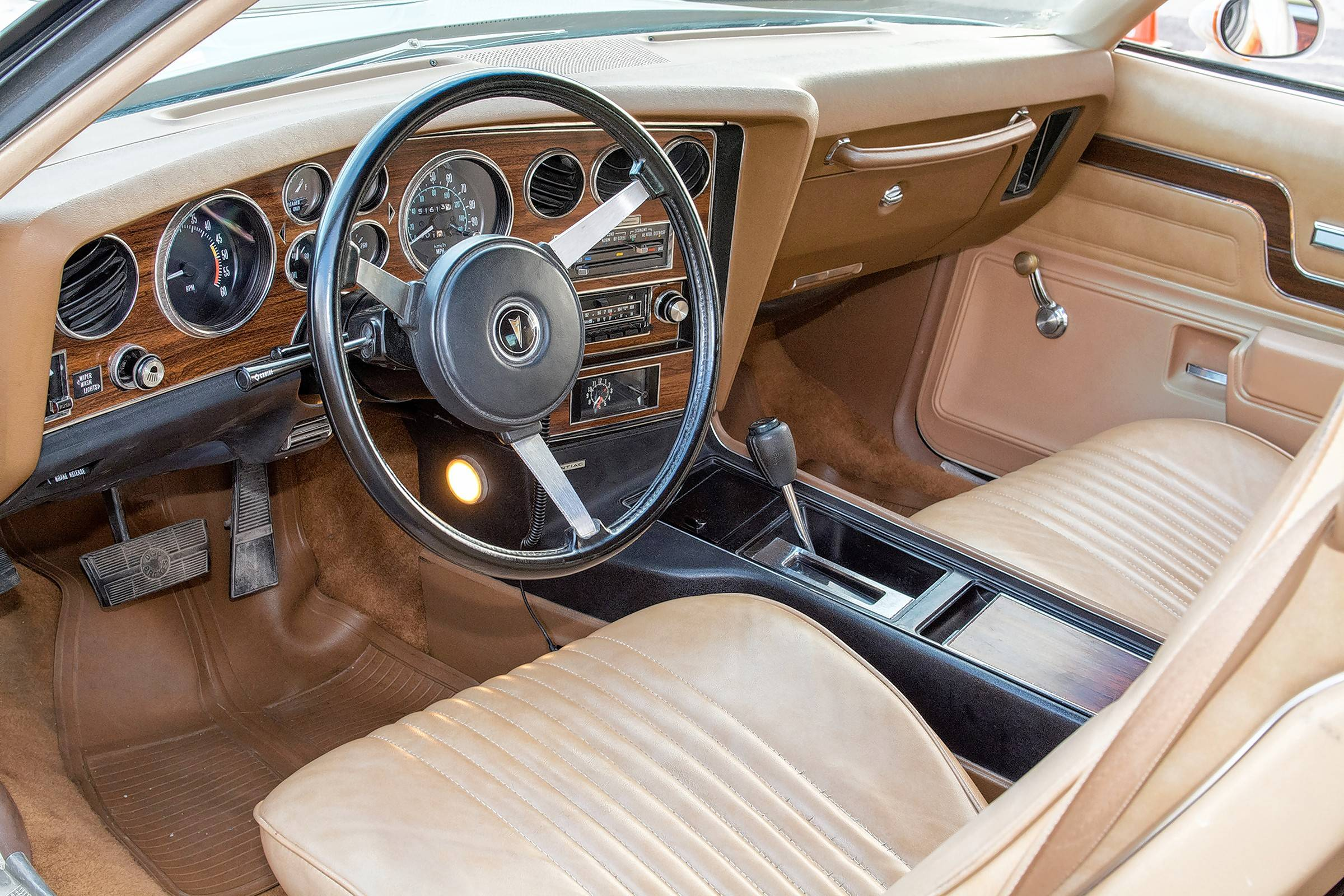 Chuck Wilson ordered the tan interior while Nick Chelf's Can Am has black seats and dashboard.