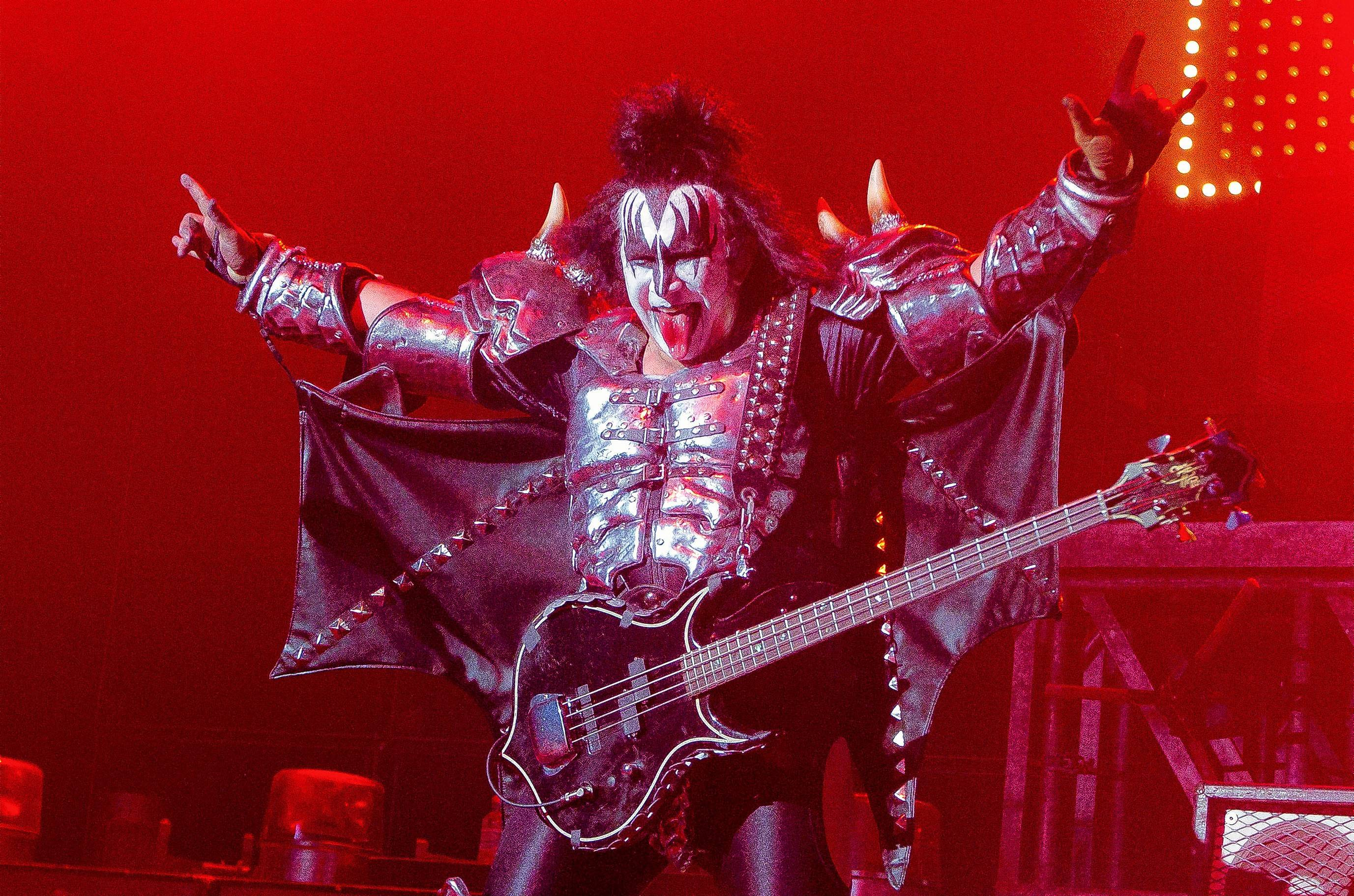 Gene Simmons of KISS, which performs at RiverEdge Park in Aurora on Sunday, Aug. 20.