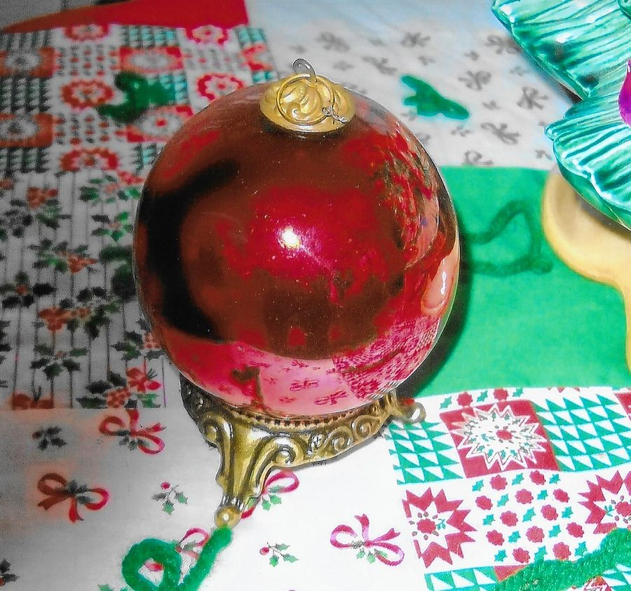 German Christmas Ornament Serves As Family Heirloom