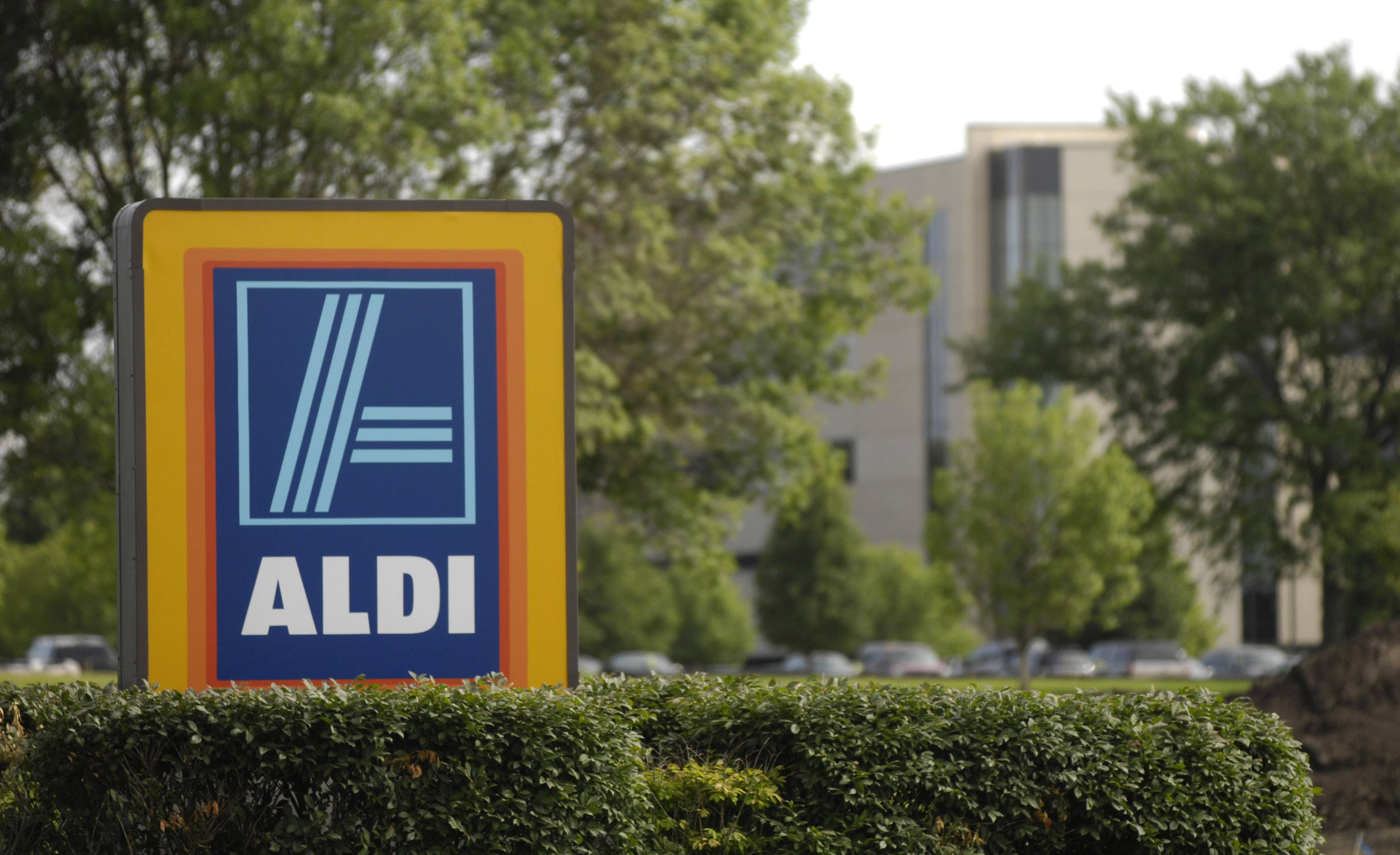 Aldi, with hits U.S. headquarters in Batavia, is opening three local renovated stores this week.