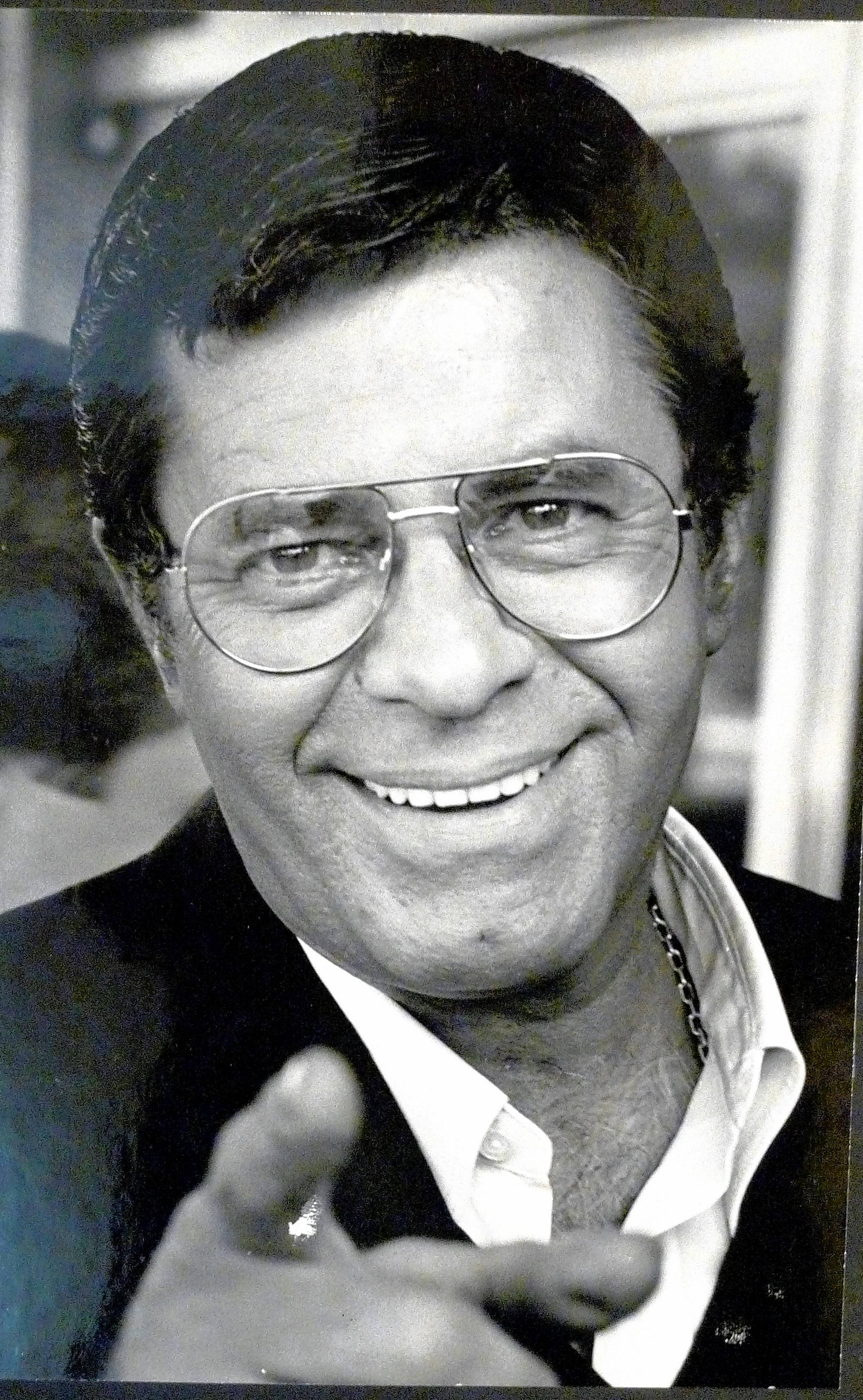 Jerry Lewis, then 56, photographed during his 1982 interview with Dann Gire at Chicago's Ritz Carlton Hotel.