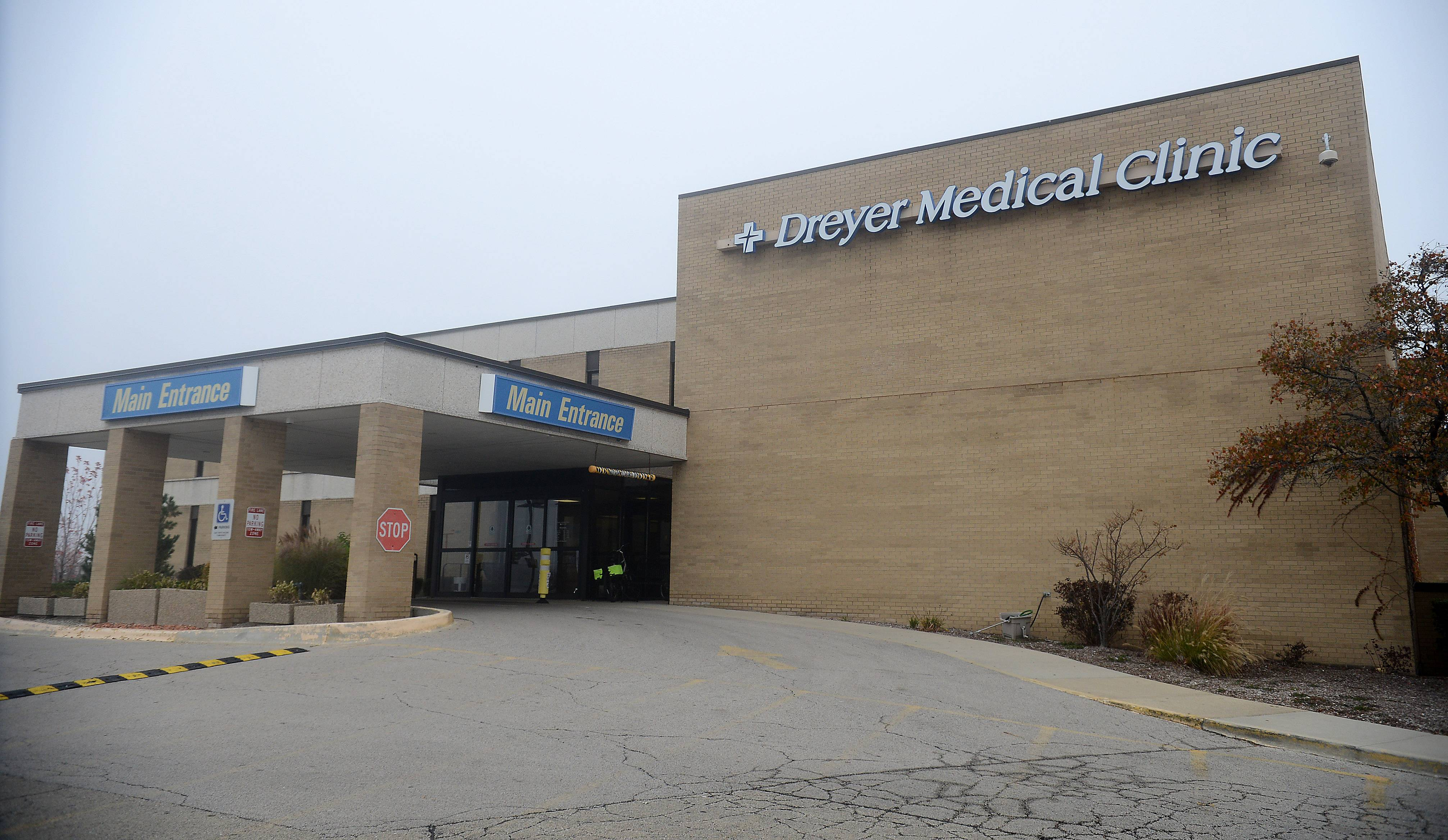 The former Dreyer Medical Clinic at 1870 W. Galena Blvd. is getting remodeled to accommodate West Aurora District 129 programs.