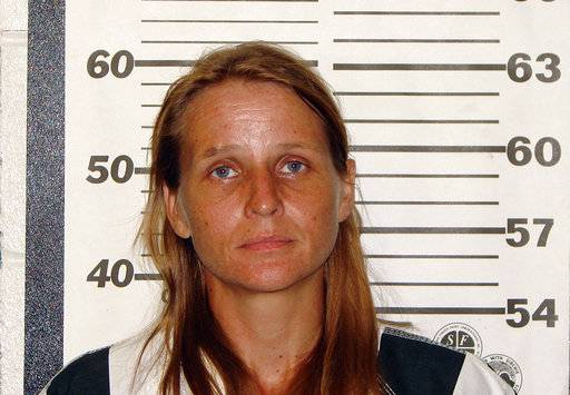 This photo provided by the Ozark County, Missouri, sheriff's office shows Rebecca Ruud, charged, Tuesday, Aug. 22, 2017, with murder in the death of her 16-year-old biological daughter, whose remains were found in a burn pit on their rural property. (AP Photo/Ozark County Sheriff's Office)