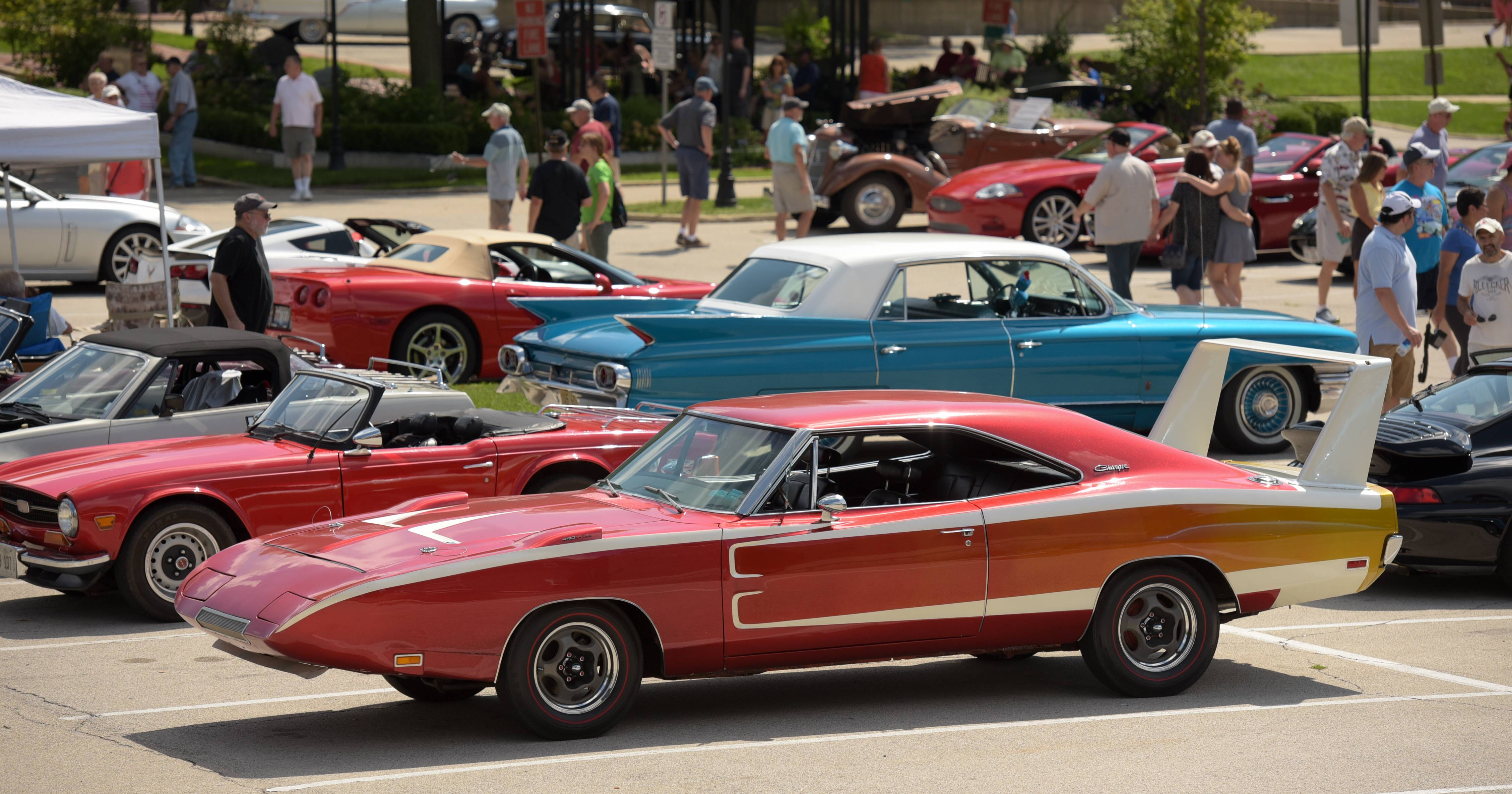 Classic cars of all types will be on display Sunday at the annual Concours d'Elegance in downtown Geneva.