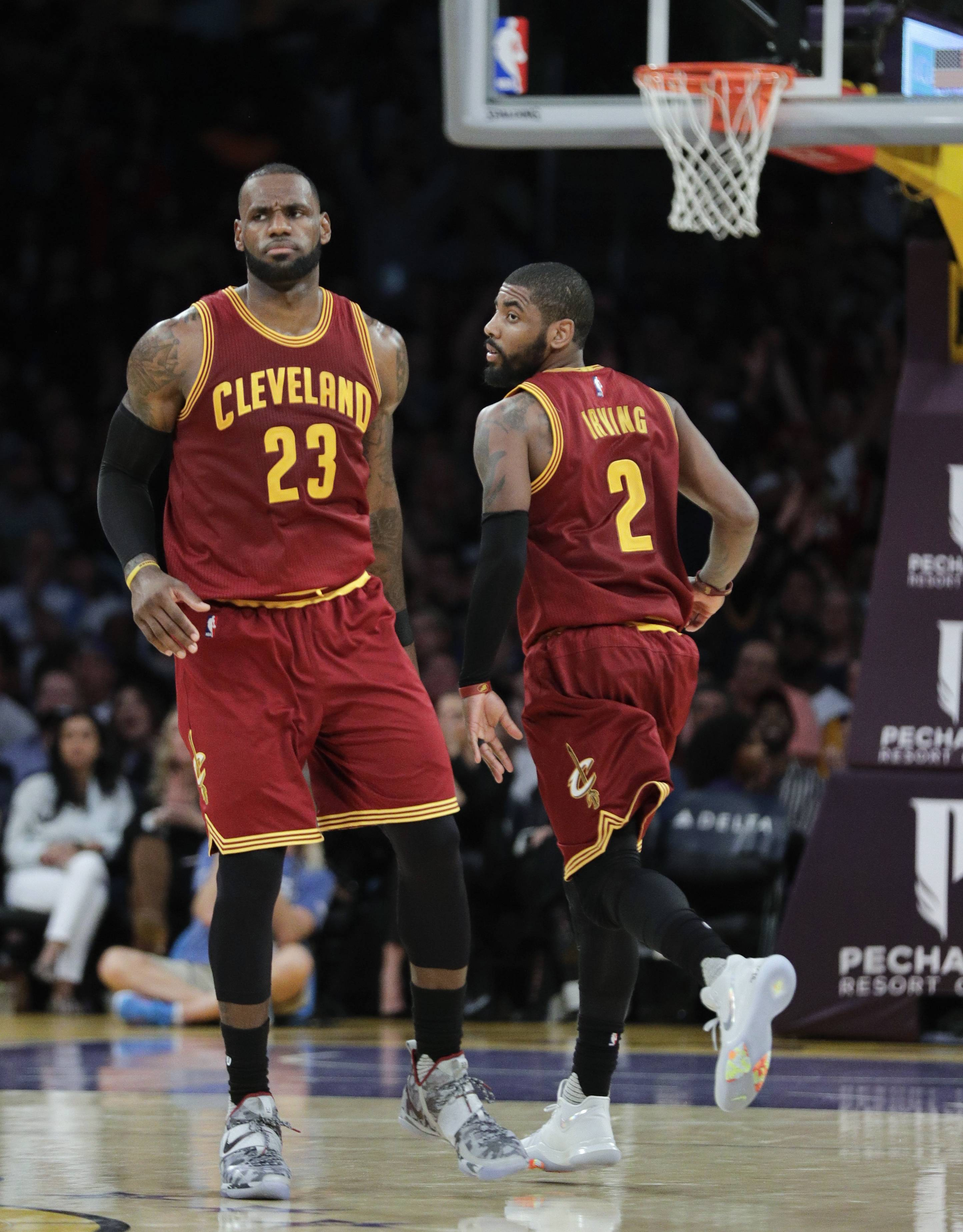 While the Celtics like what Kyrie Irving will bring to their team, the Cleveland Cavaliers, with superstar LeBron James, still appear to have the best team in the Eastern Conference.