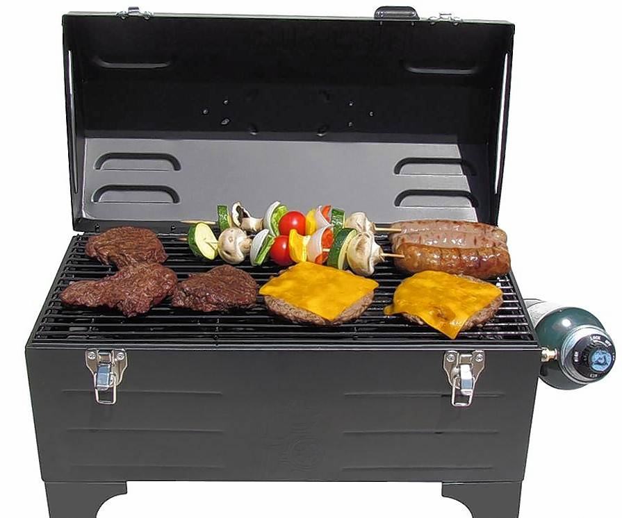 This Tool Box Grill is part of the grand prize package for the Pigskin Picks contest.