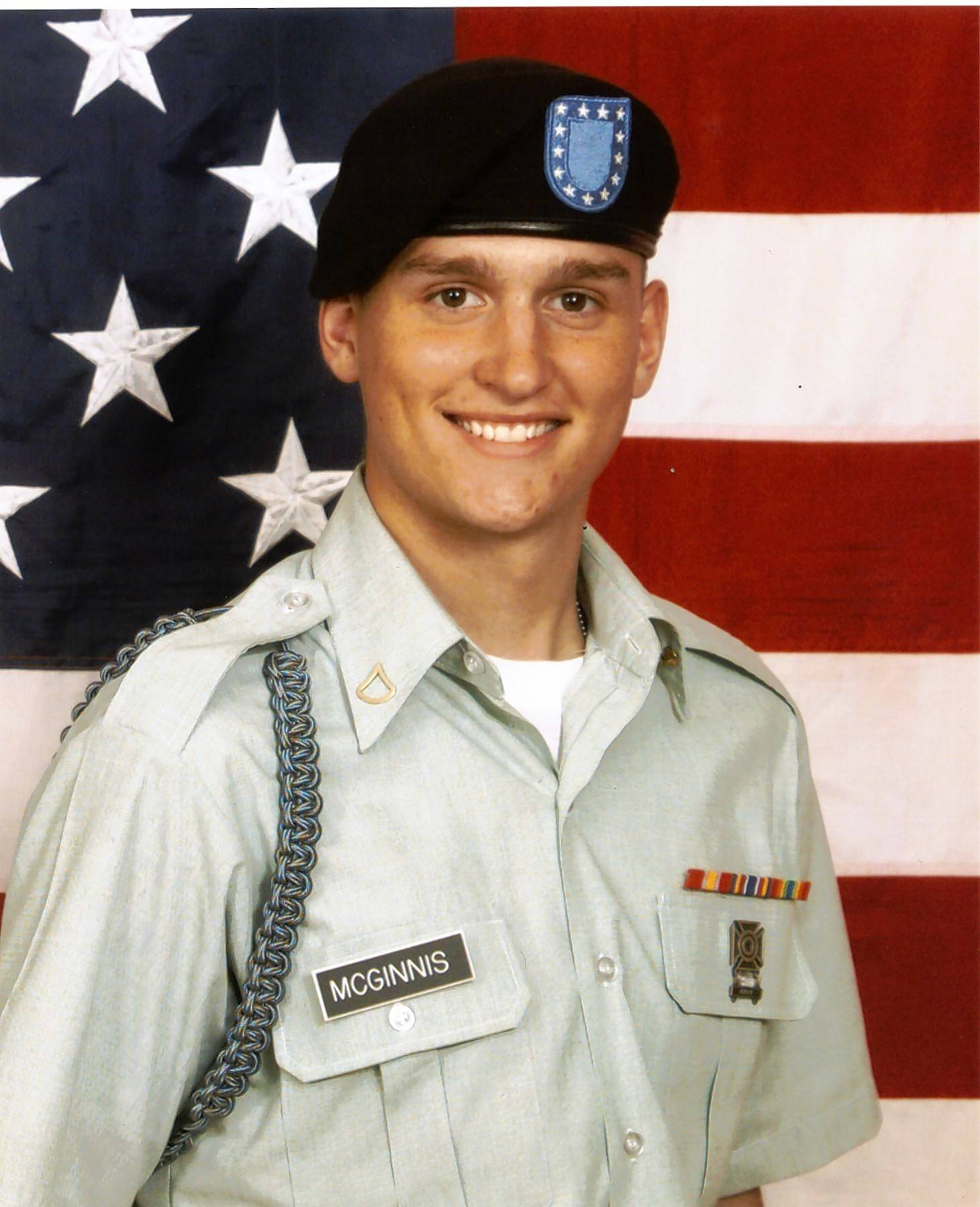 Pfc. Ross A. McGinnis