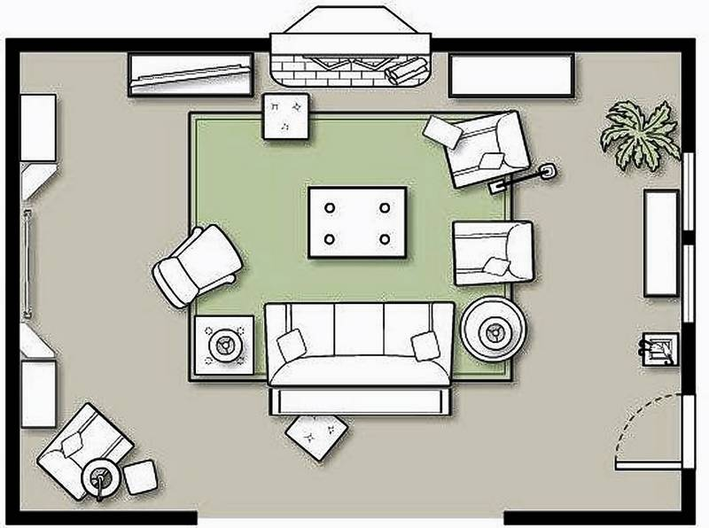 Size Activities And Numbers Dictate How To Rearrange A Room