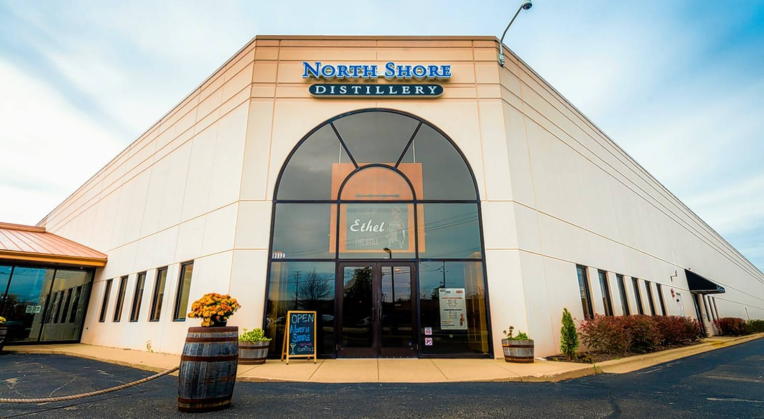 Green Oaks' North Shore Distillery offers tours that include a bit of history and tastings.