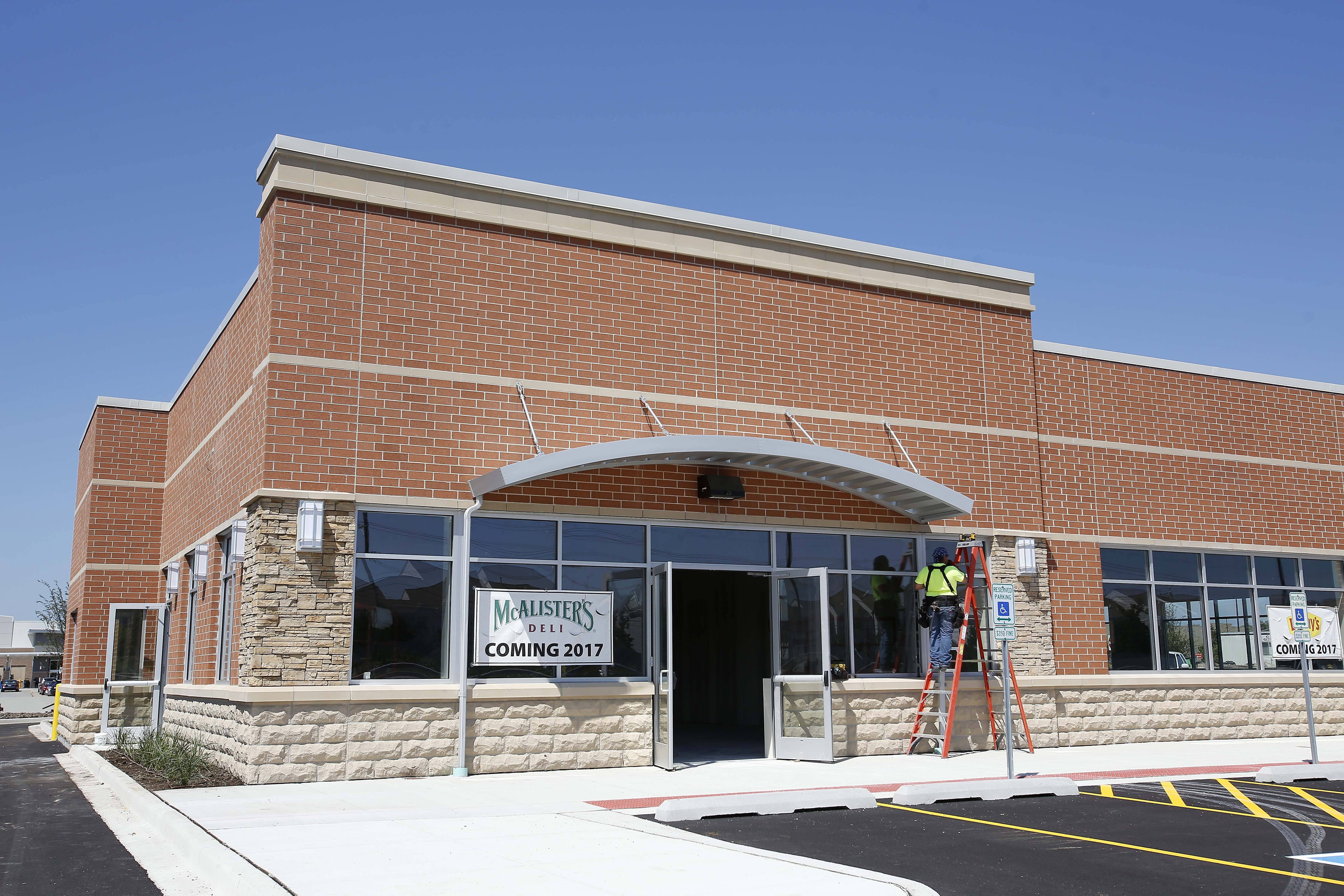 McAlister's Deli will open this fall on Randall Road in Elgin.