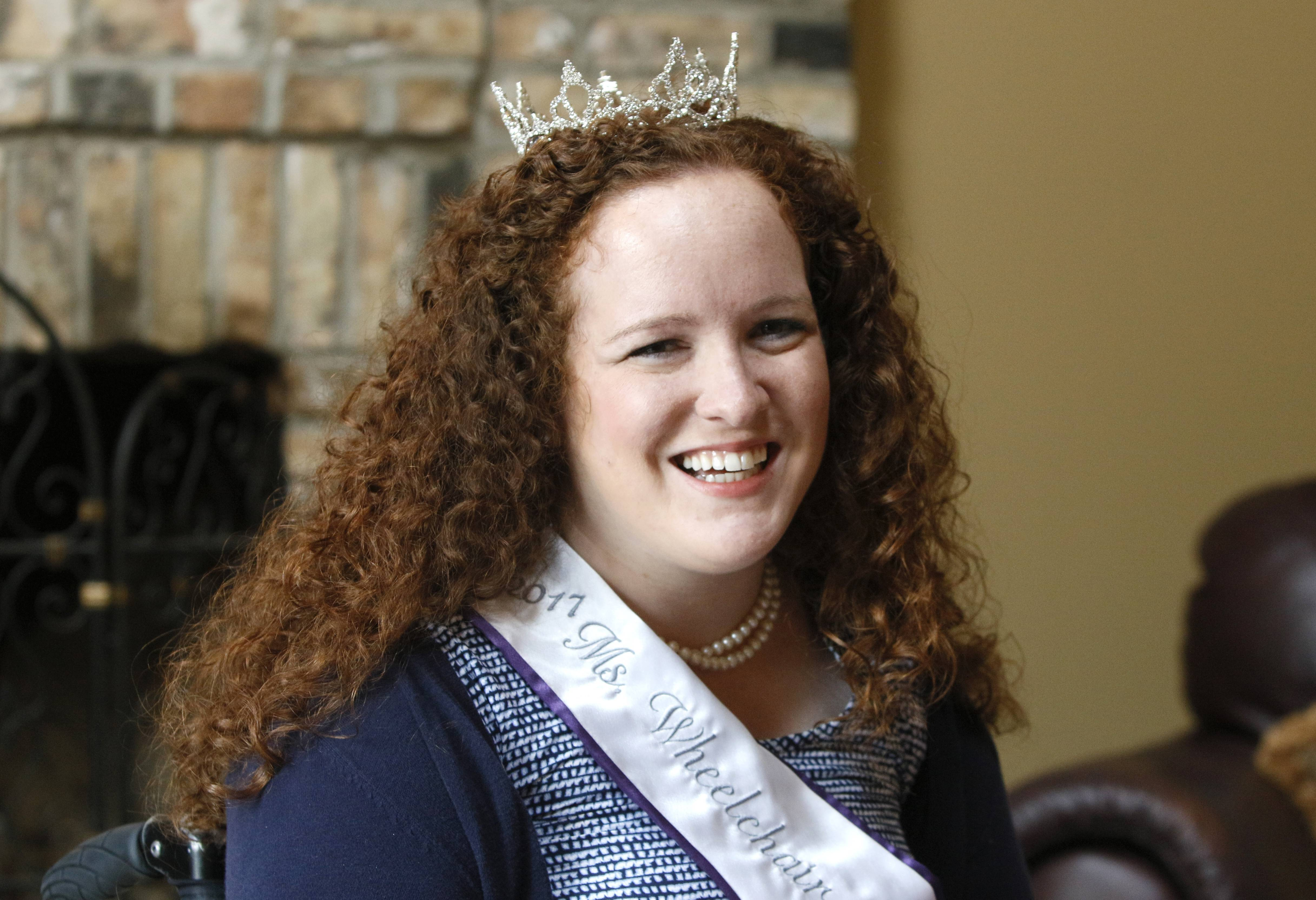 Shannon Webster of Naperville, also known as Ms. Wheelchair Illinois 2017, did not win the national crown at a pageant against 24 other participants this month in Pennsylvania, but she plans to continue advocating for employment for people with disabilities.
