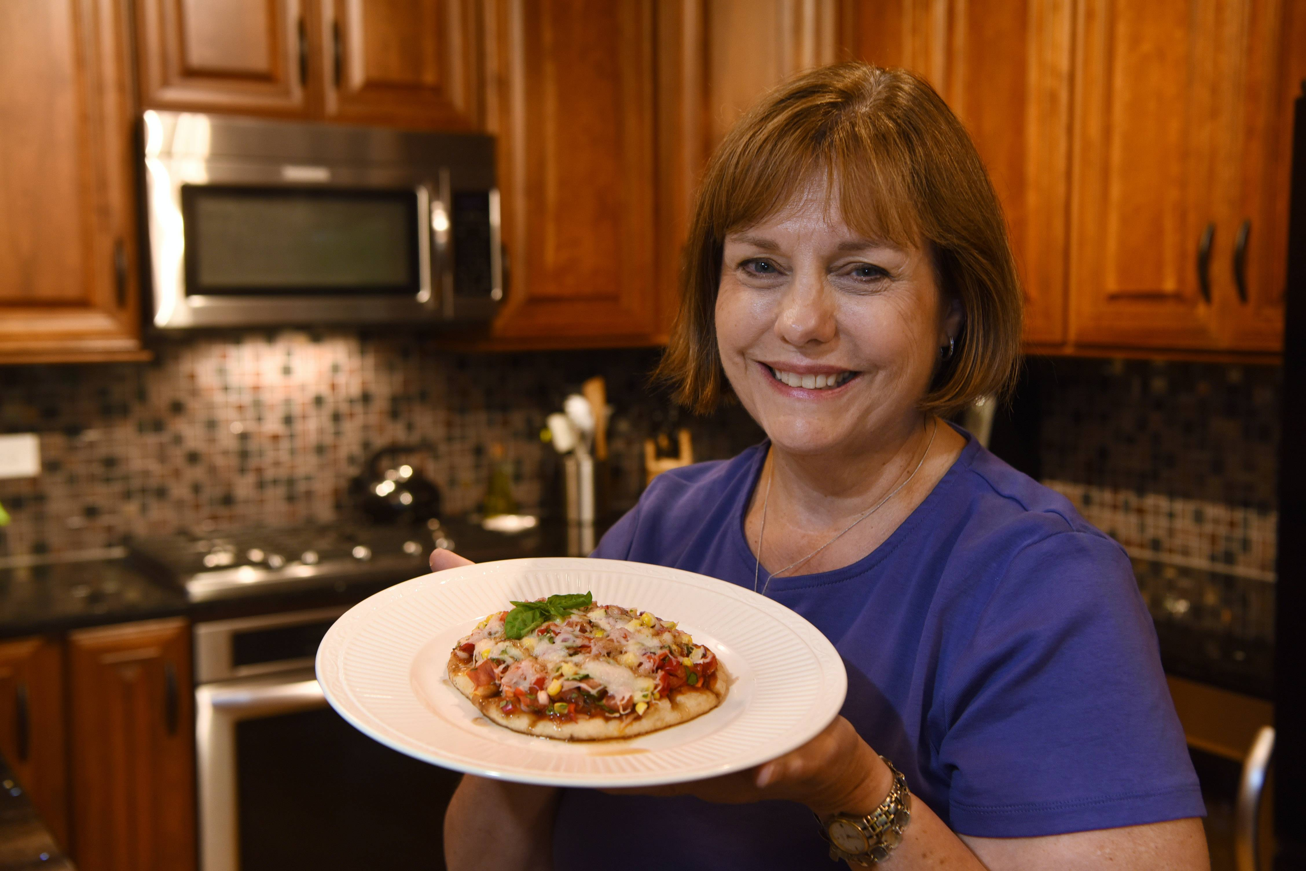 Cook of the Week Barbara Hartwig of Deerfield cooks often with fresh vegetables in such dishes as her homemade veggie frittata and pizza.