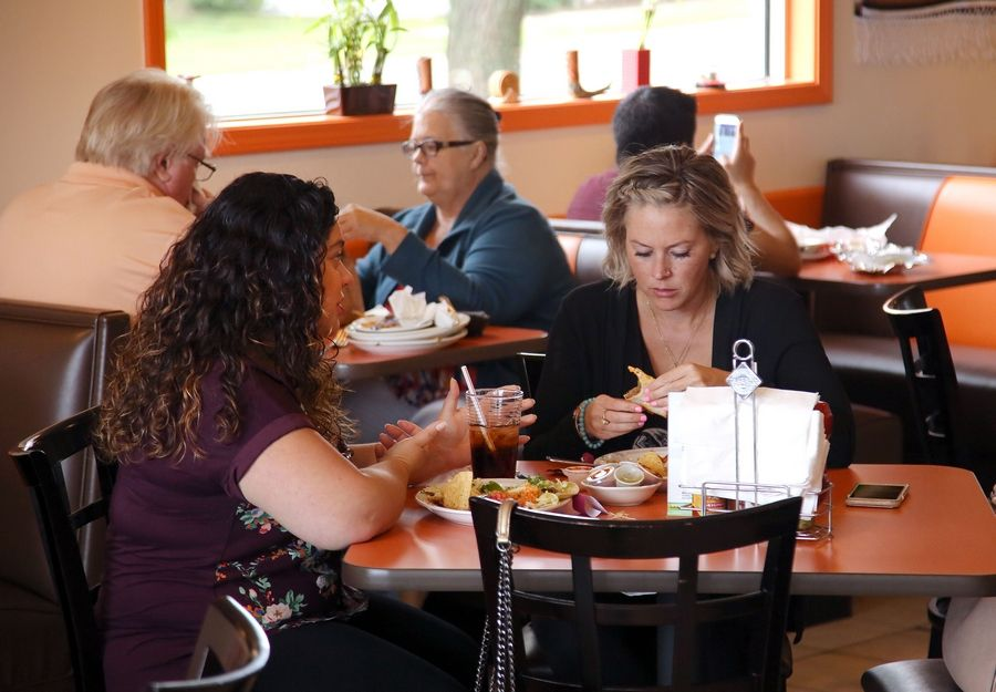 Dos Amigos Mexican Restaurant in Libertyville has been doing a brisk business since it opened six months ago.
