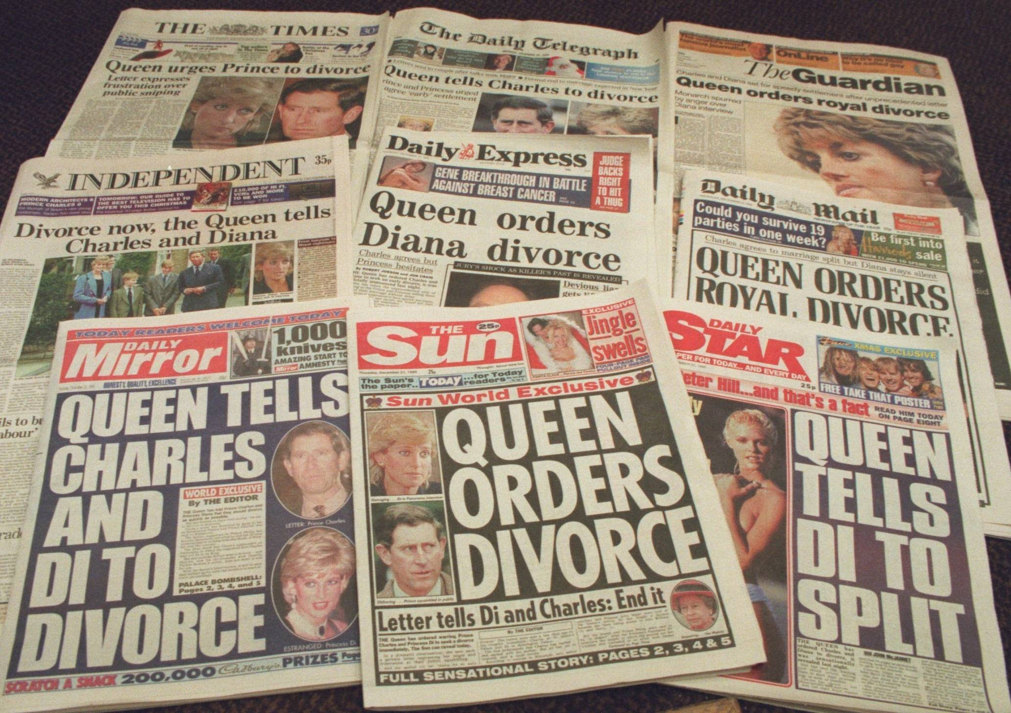 Daily express diana headlines for dating