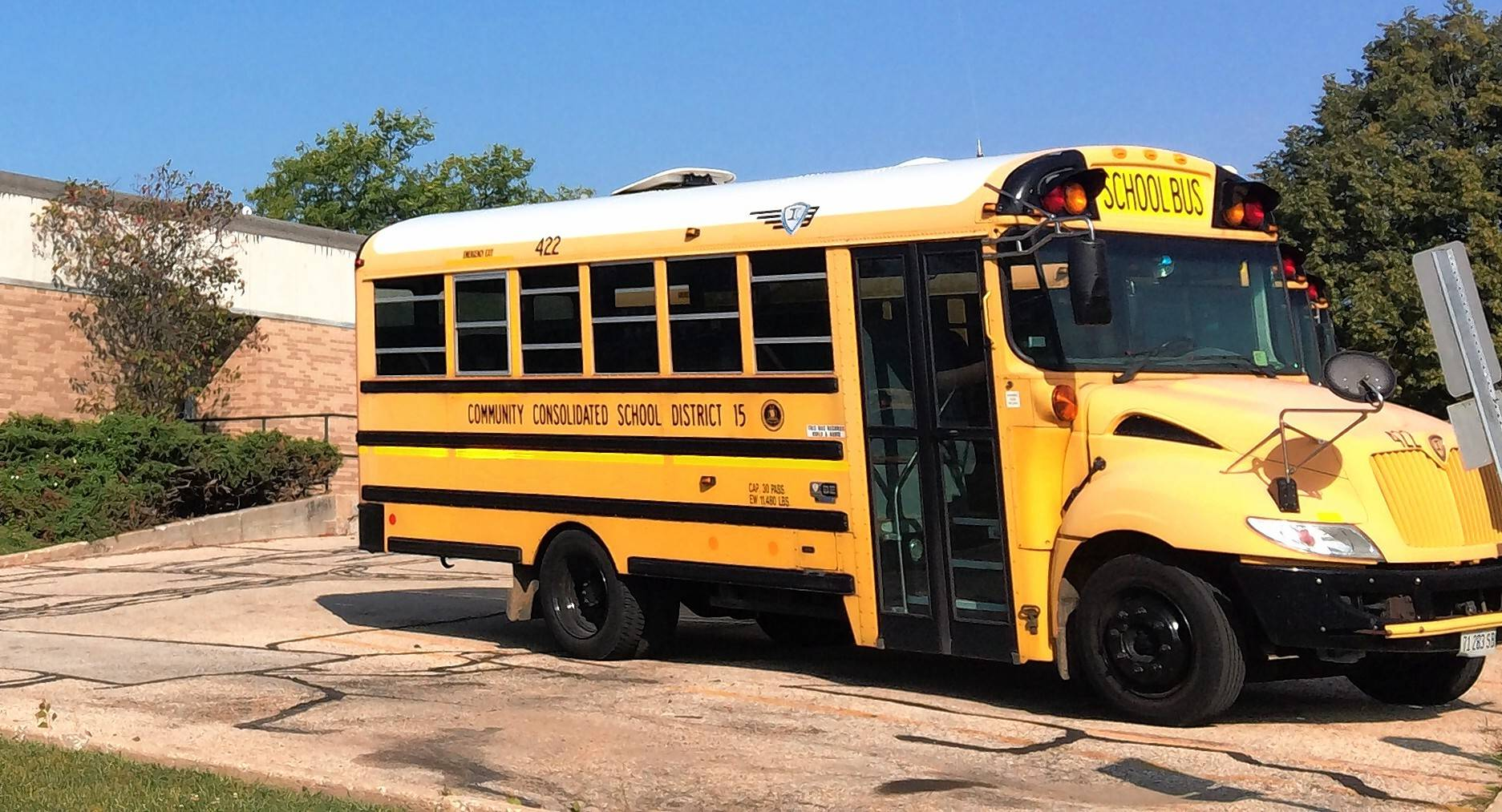 Palatine Township Elementary District 15 may debut a new school bus-tracking service for parents possibly as soon as next week.