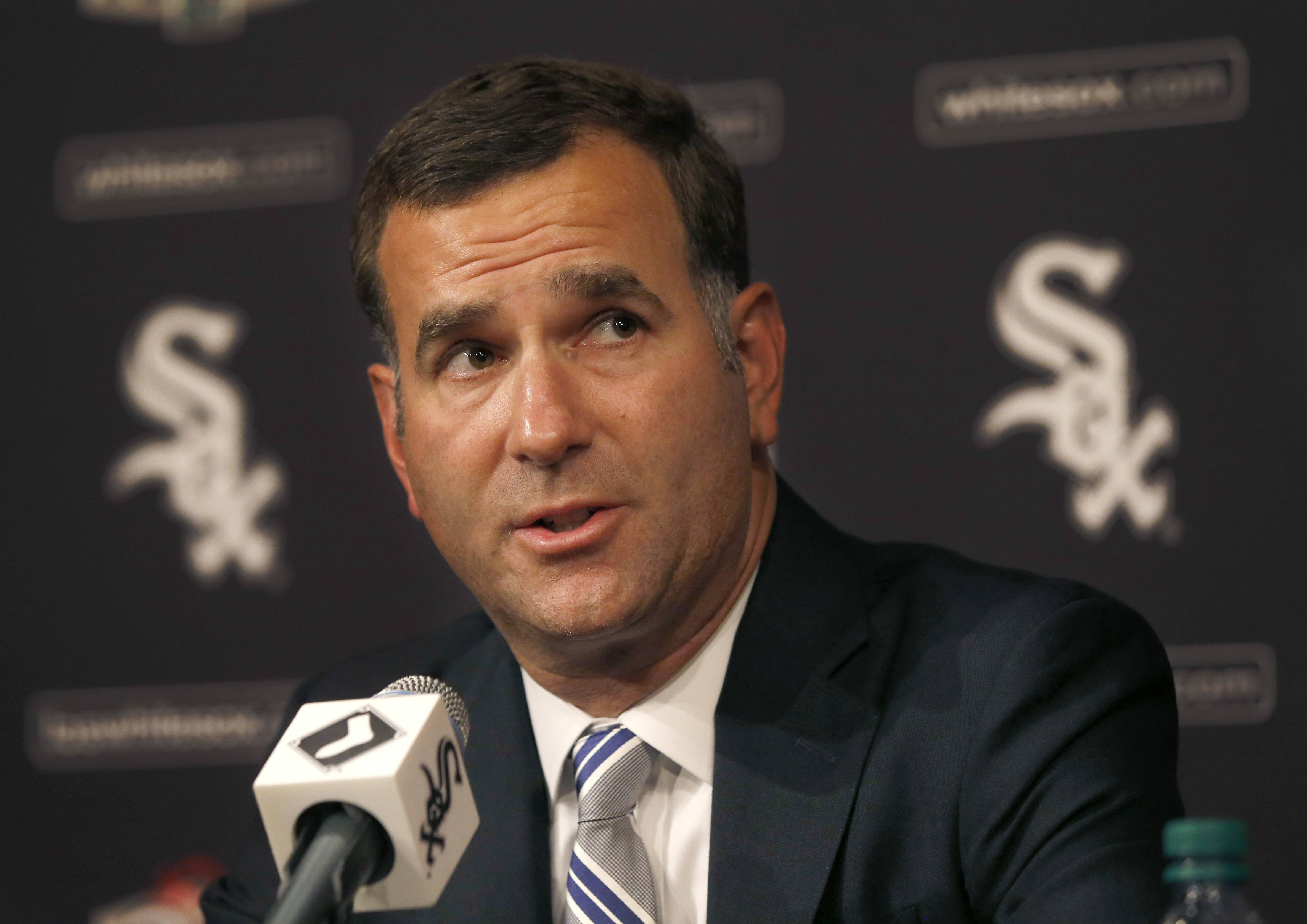 Although the White Sox's seem to be rebuilding at a quick pace — some even talk of a 2018 playoff run — general manager Rick Hahn hasn't put any kind of timeline on the process just yet.