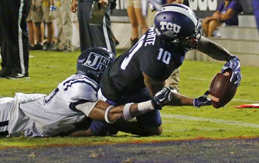 Tcu Opens Season With Rout Of Jackson State