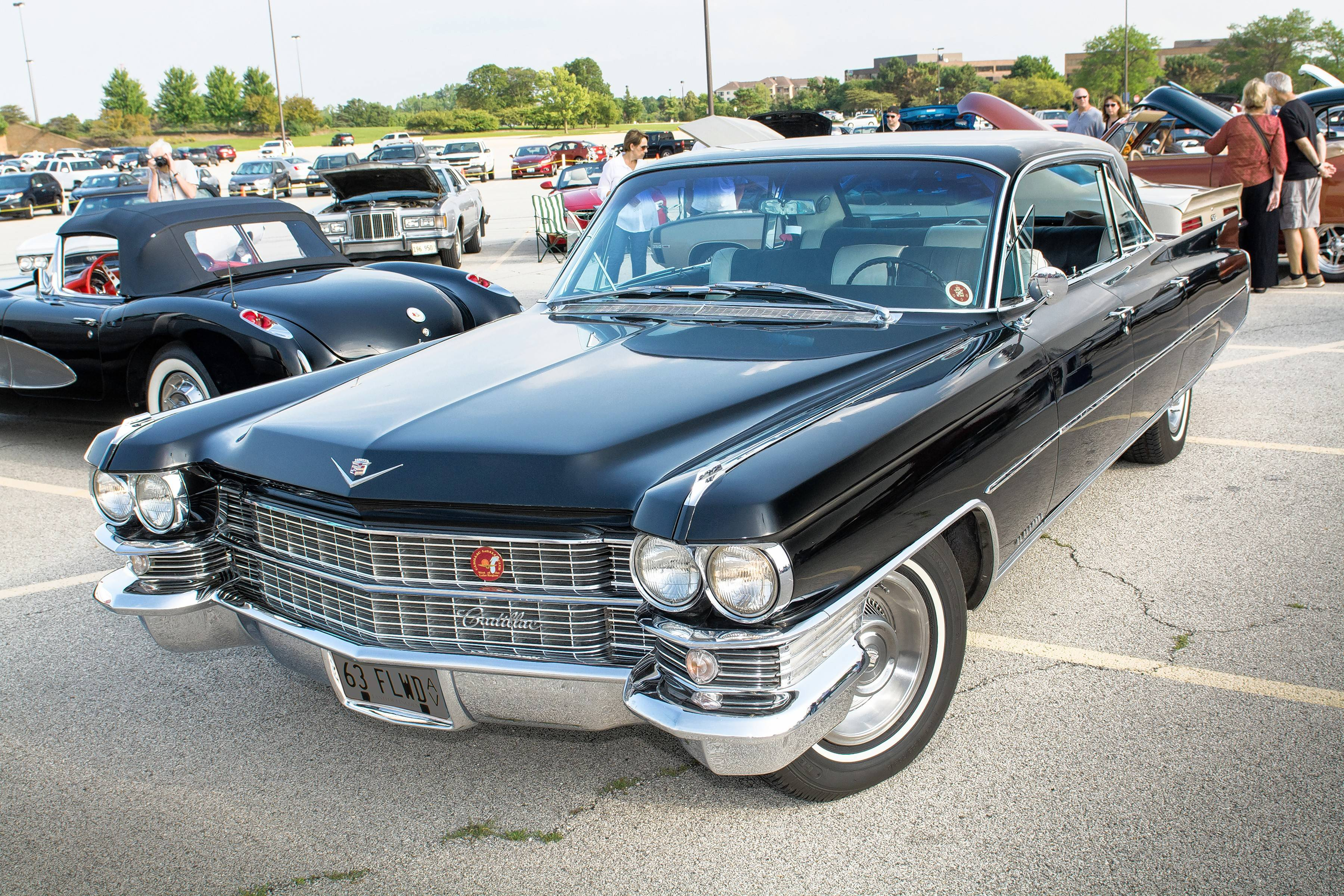 Ray Bombeck, Roselle, IL, 1963 Cadillac Fleetwood 60 Special
