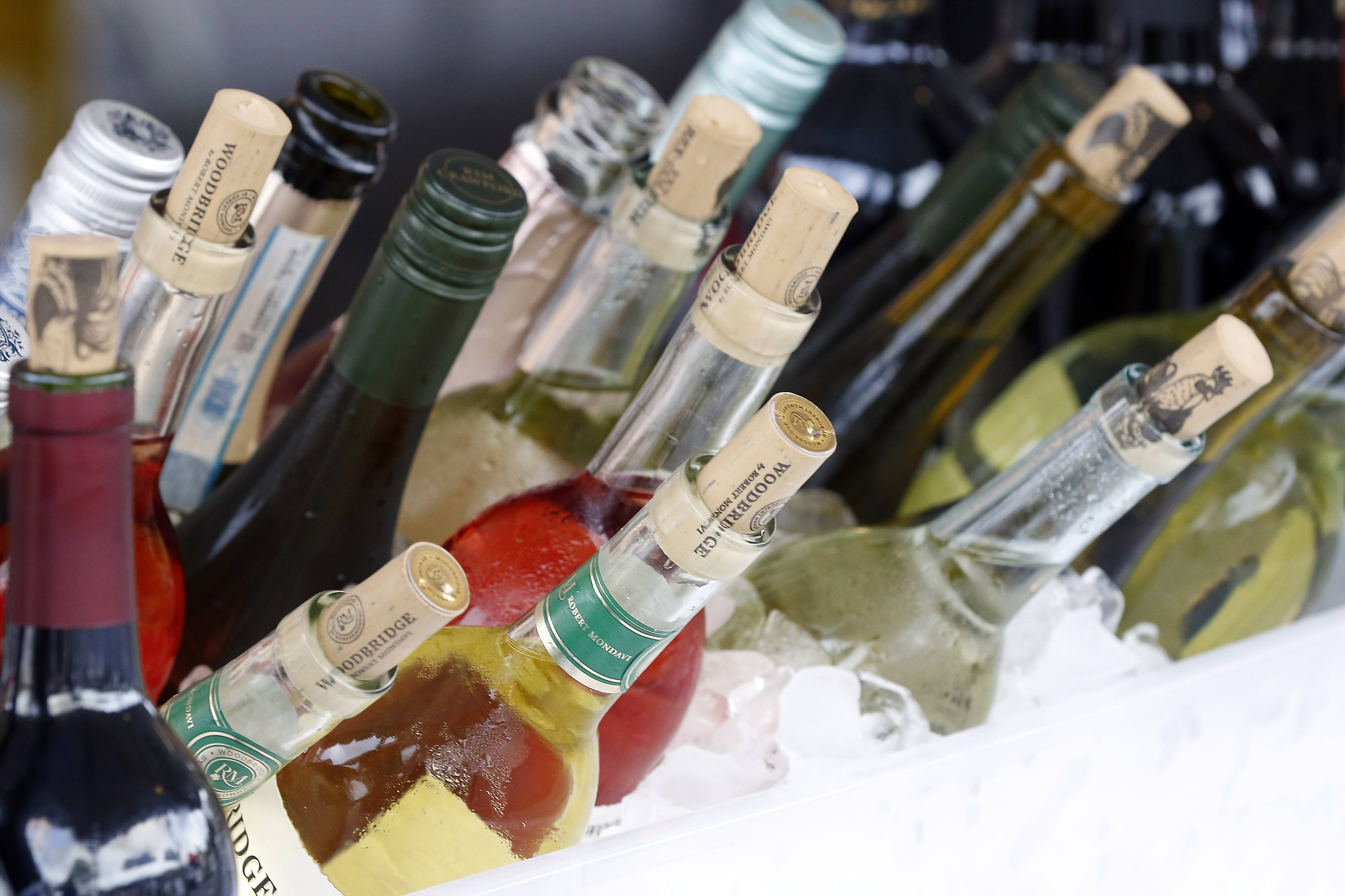 Sample from a wide variety of wines this weekend during Geneva's Festival of the Vine.