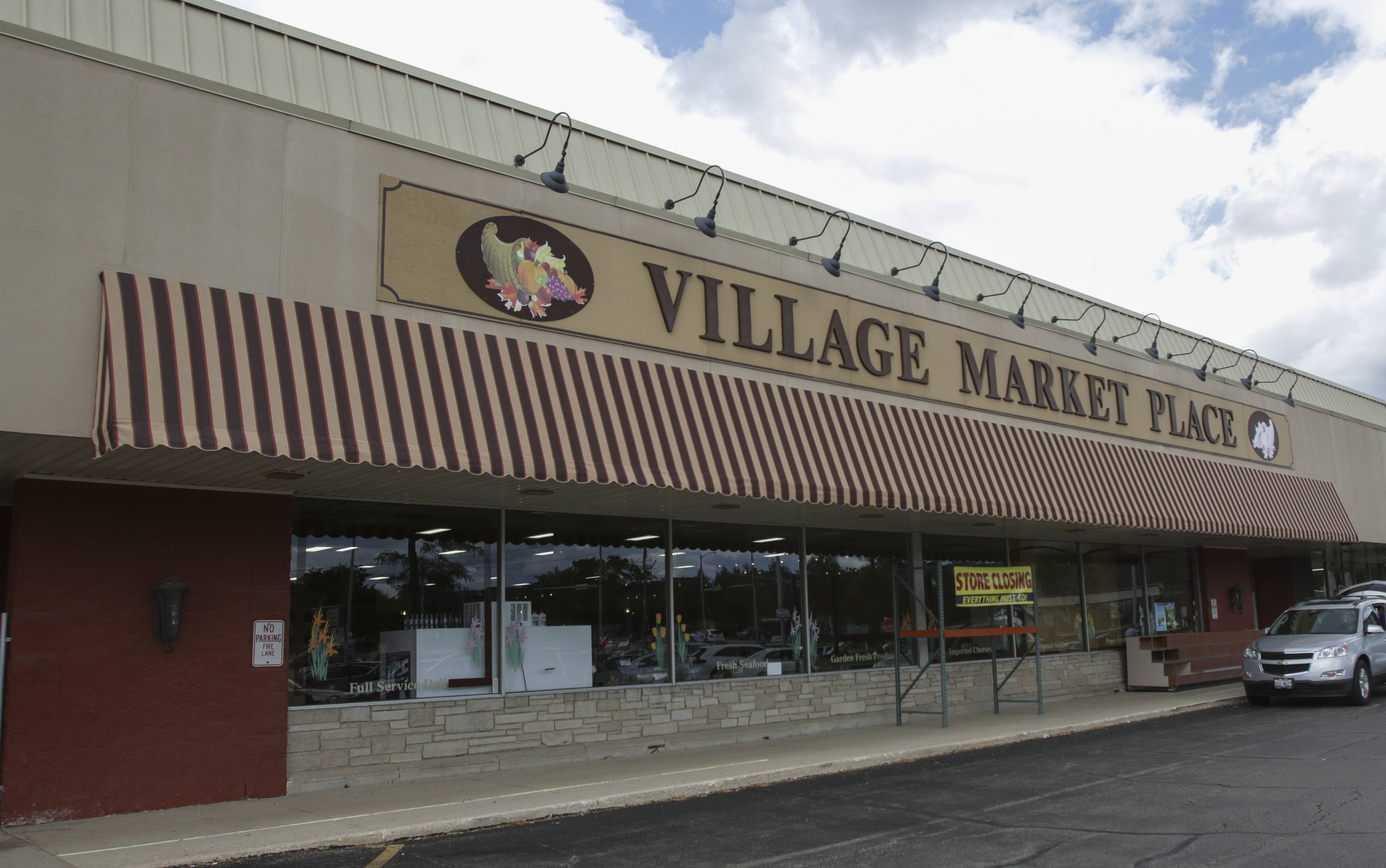 The Village Market Place grocery store in Carol Stream is preparing to close within the next two weeks.