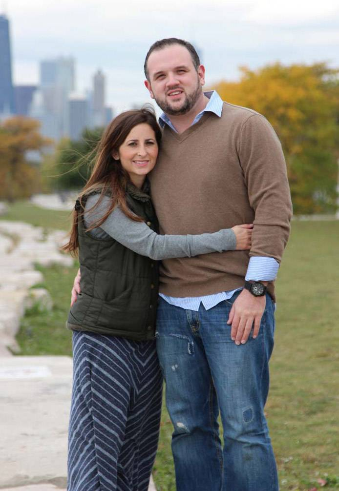 Rikki and Matt Peota plan to open a new restaurant in downtown Arlington Heights. They married in 2013, 13 years after being paired together for a class project at Stevenson High School.
