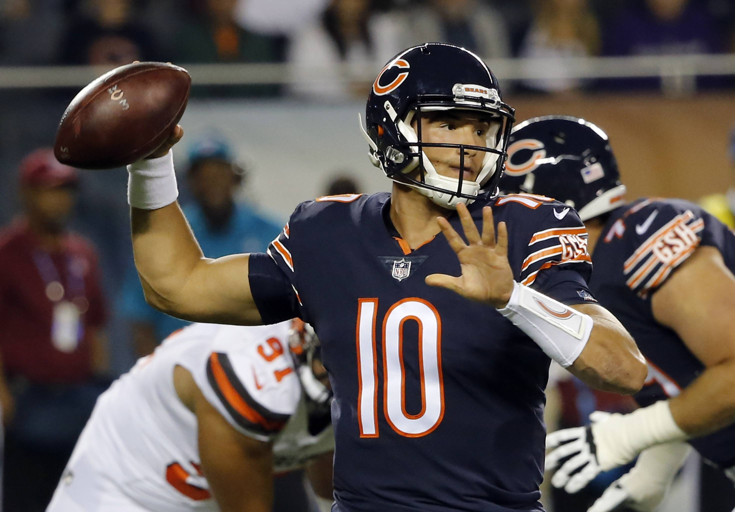 Bears QB Trubisky 'earned' promotion, Fox says