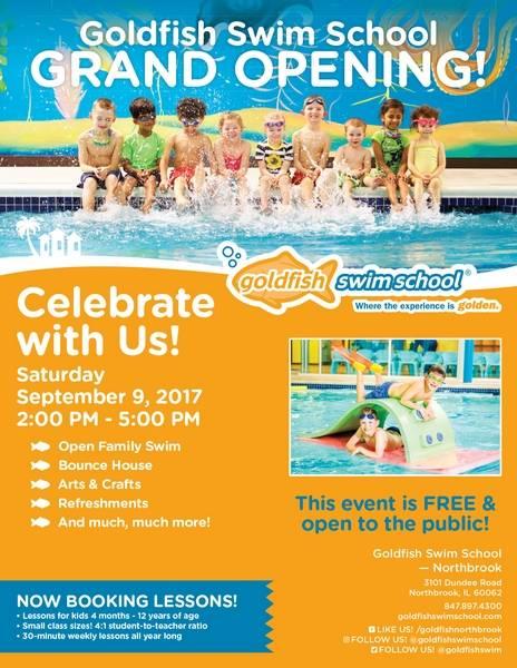 Goldfish Swim School Northbrook Hosts Free Grand Opening Event On