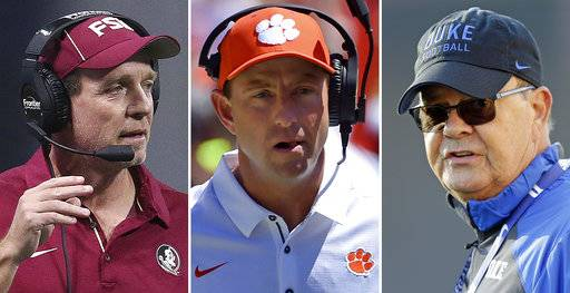 ACC schools hoping to benefit from coaching continuity