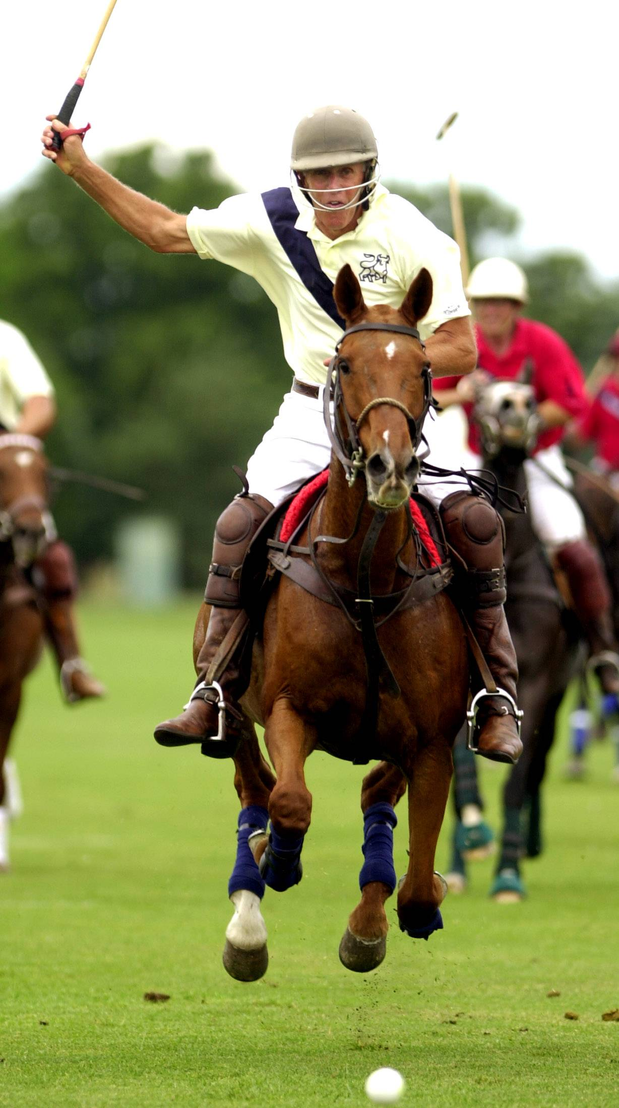 Oak Brook Polo Club will contest the International Cup, hosting the Wales Polo Team. The British team last played in Oak Brook 31 years ago with Prince Charles on the team.