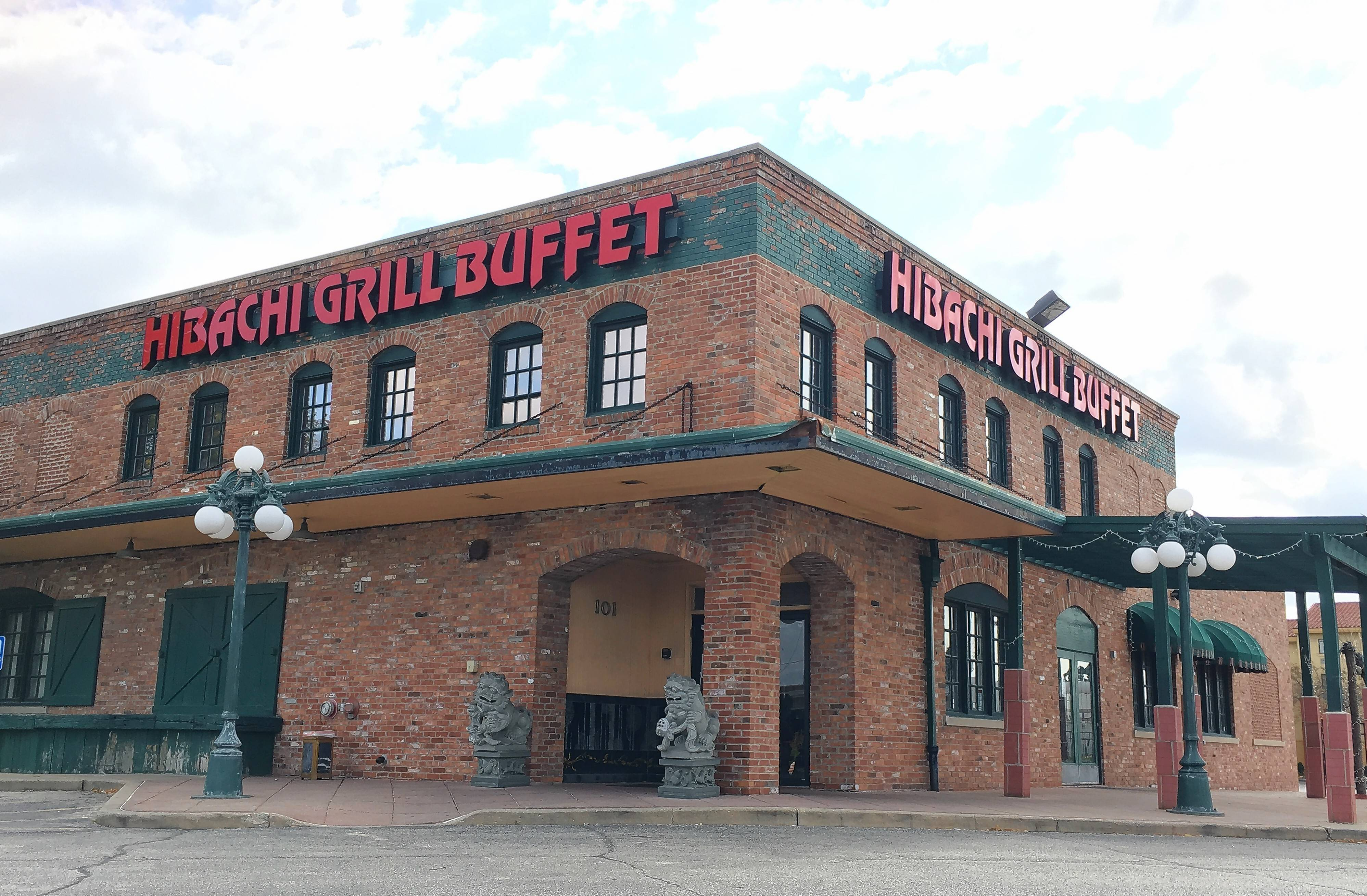 Hibachi Grill Buffet, 101 Busse Road in Elk Grove Village, will pay $100,000 to resolve a lawsuit filed by the Illinois attorney general's office alleging the restaurant profited by targeting Latinos for underpaid positions.