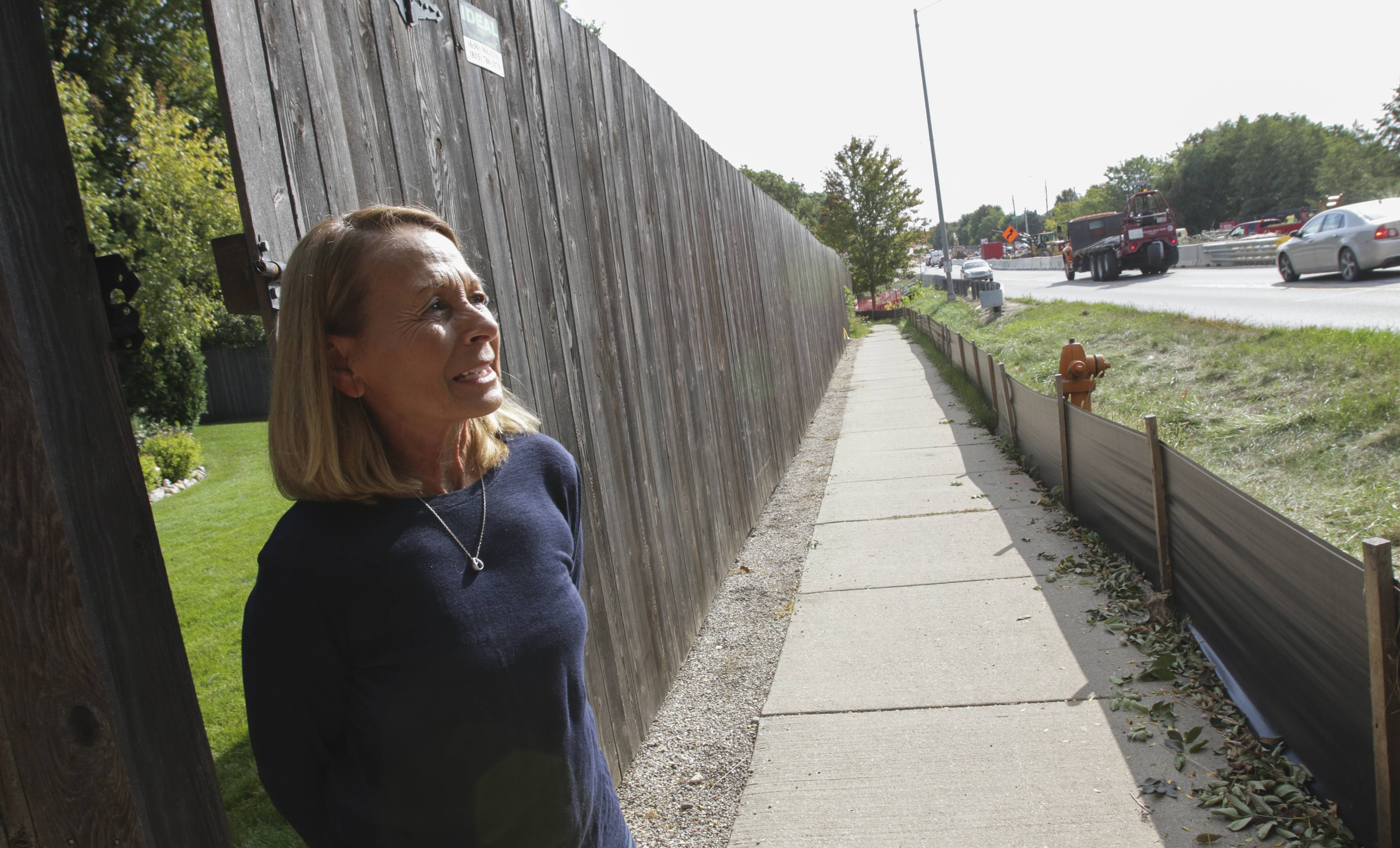 Naperville resident promises persistence in push for sound wall