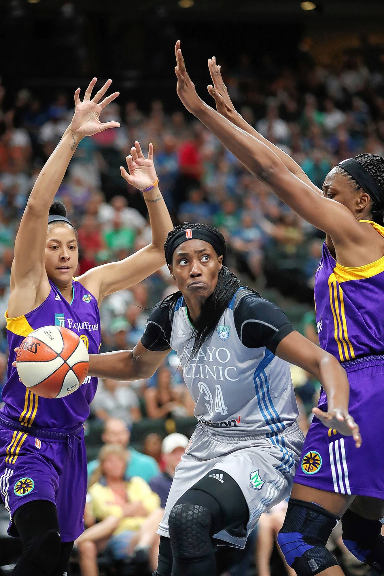 Minnesota Lynx, center Sylvia Fowles was named WNBA's Player of the Year by the Associated Press on Tuesday, a title that had eluded Fowles for the first nine years of her career. Fowles spent seven years with the Chicago Sky before being traded in 2014.