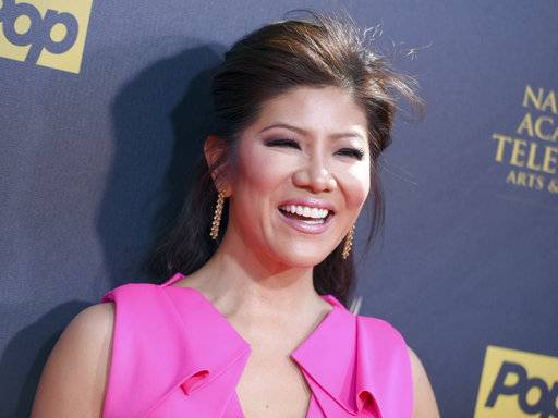 "FILE- In this April 26, 2015, file photo, Julie Chen arrives at the 42nd annual Daytime Emmy Awards at Warner Bros. Studios in Burbank, Calif. CBS announced Sept. 8, 2017, that Chen will host a celebrity edition of ""Big Brother"" that will air this winter. (Photo by Richard Shotwell/Invision/AP, File)"