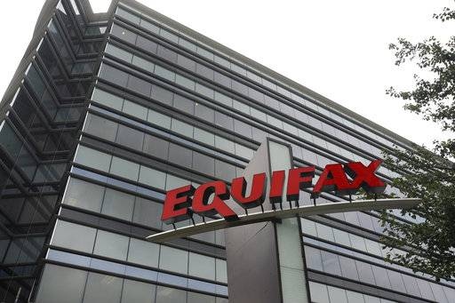 "This July 21, 2012, photo shows Equifax Inc., offices in Atlanta. Credit monitoring company Equifax says a breach exposed social security numbers and other data from about 143 million Americans. The Atlanta-based company said Thursday, Sept. 7, 2017, that ""criminals"" exploited a U.S. website application to access files between mid-May and July of this year. (AP Photo/Mike Stewart)The Associated Press"