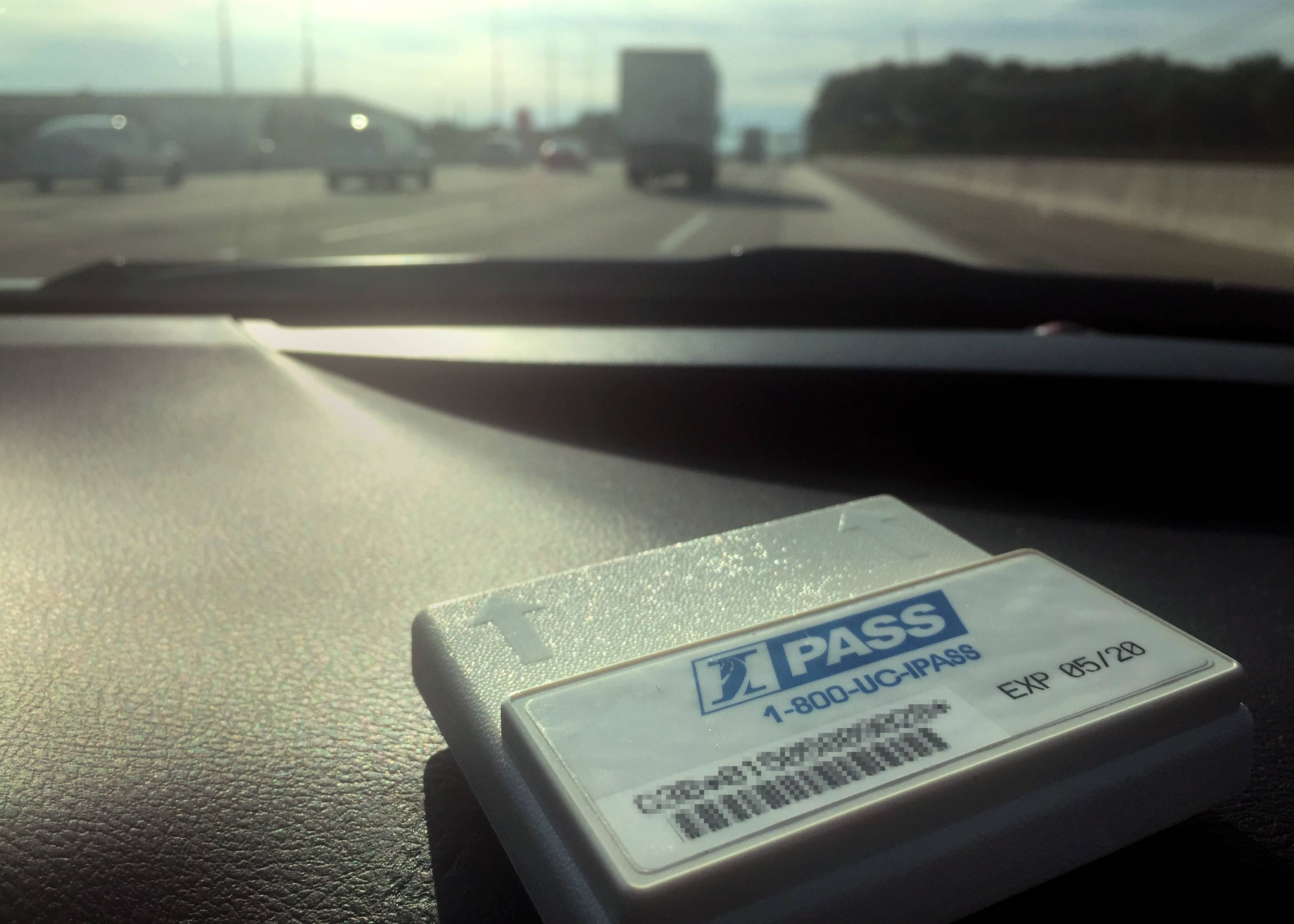 This little device — a tollway transponder — prompted our most-read story of the week.