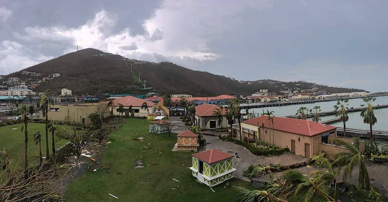 Hurricane Irma passed through St. Thomas last week, uprooting trees, damaging buildings and causing power lines to fall.
