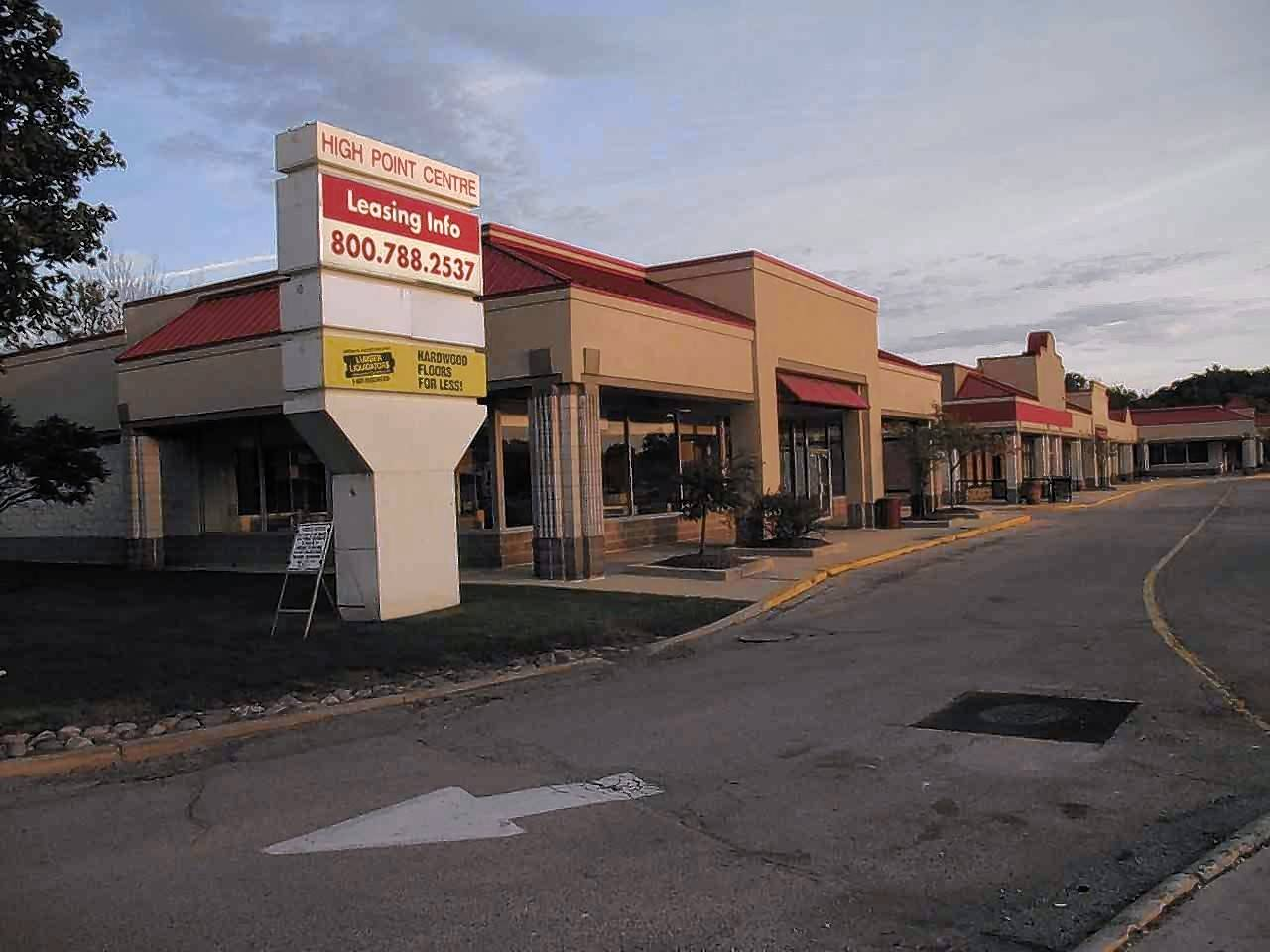 The largely vacant eastern side of the High Point Centre shopping area on the south side of Roosevelt Road in Lombard is set to be demolished next spring and rebuilt as an LA Fitness and an outlot suitable for restaurants.