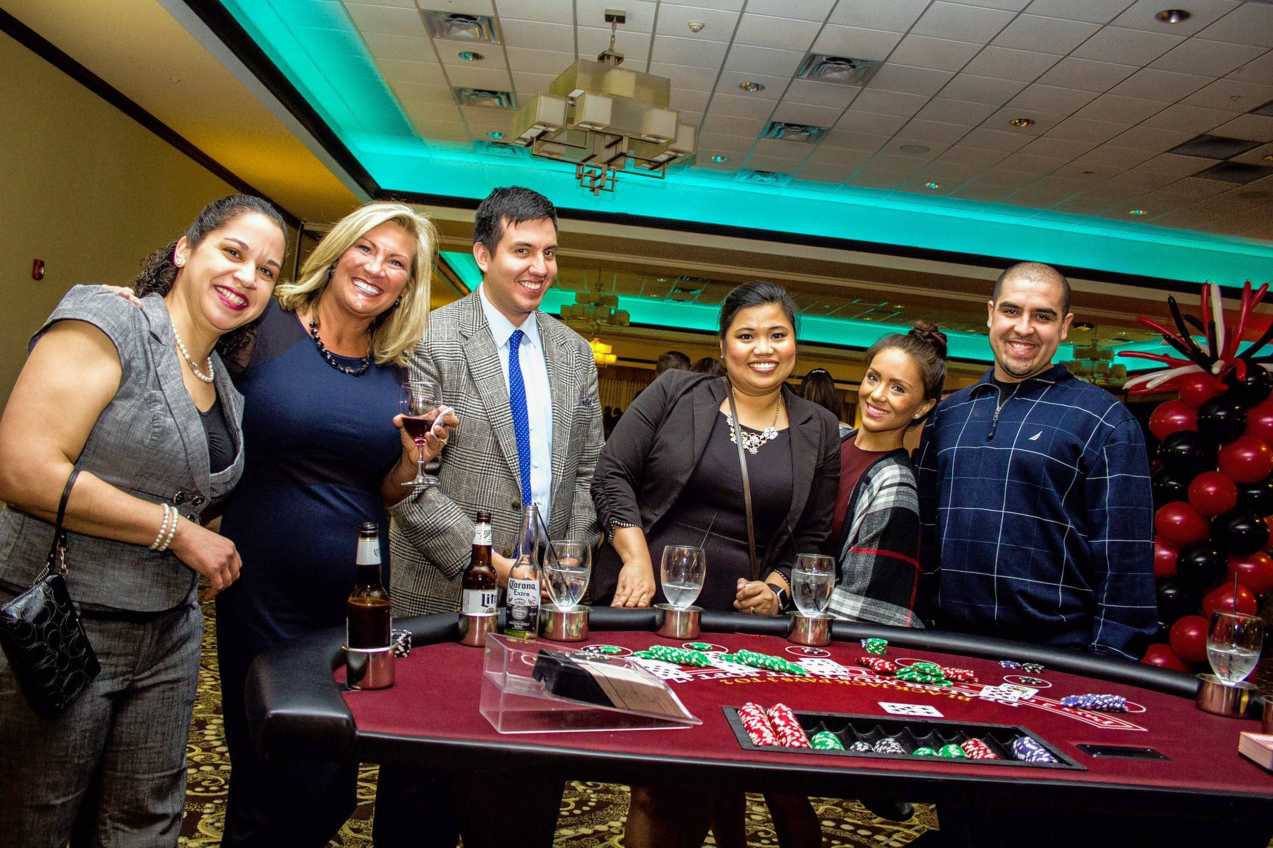 Book your venue soon for your office holiday party. Then, call on GSH Casino Parties and they'll handle all the details to give you and your whole office a fun evening and a night to remember. Visit www.gshcasinoparties.com.
