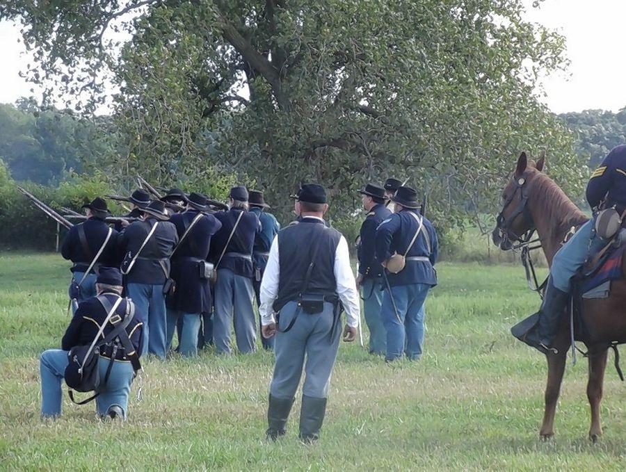 Experience history at Hainesville's Civil War Encampment, Battle