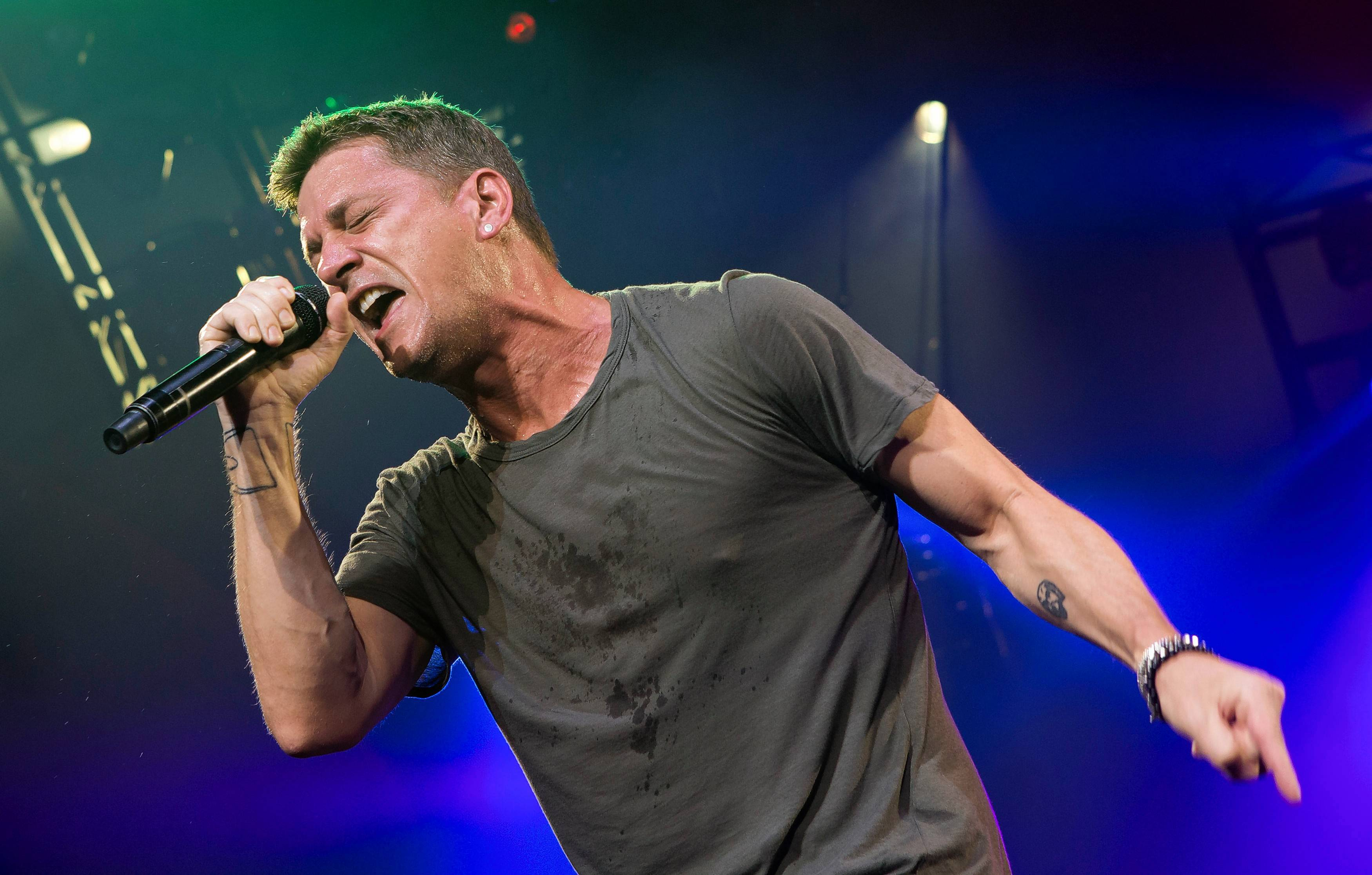 "Rob Thomas performs with Matchbox Twenty for the ""Matchbox Twenty & Counting Crows: A Brief History of Everything Tour,"" coming to the Hollywood Casino Amphitheatre in Tinley Park Sunday, Sept. 17."