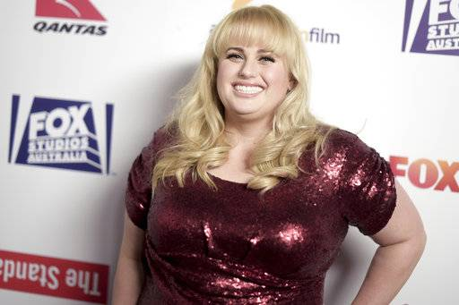 FILE - In this Oct. 19, 2016, file photo, Rebel Wilson attends the 5th Annual Australians in Film Awards at NeueHouse Hollywood in Los Angeles. A judge on Wednesday, Sept. 13, 2017 awarded Wilson 4.56 million Australian dollars ($3.66 million) in damages over magazine articles she said cost her roles in Hollywood films. A jury in Australia's Victoria state had decided in June the articles claiming she lied about her age, origins of her first name and her upbringing in Sydney were defamatory. (Photo by Richard Shotwell/Invision/AP, File)