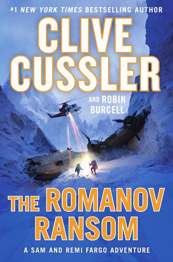 "This cover image released by Putnam shows ""The Romanov Ransom,"" by Clive Cussler and Robin Burcell. (Putnam via AP)"