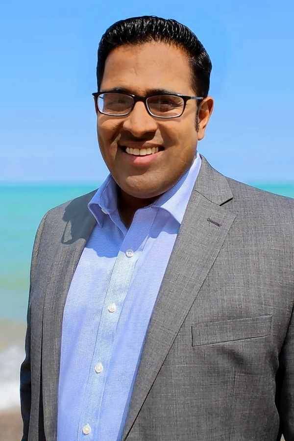 Dr. Sapan Shah of Libertyville is running as a Republican for the 10th District U.S. House seat.