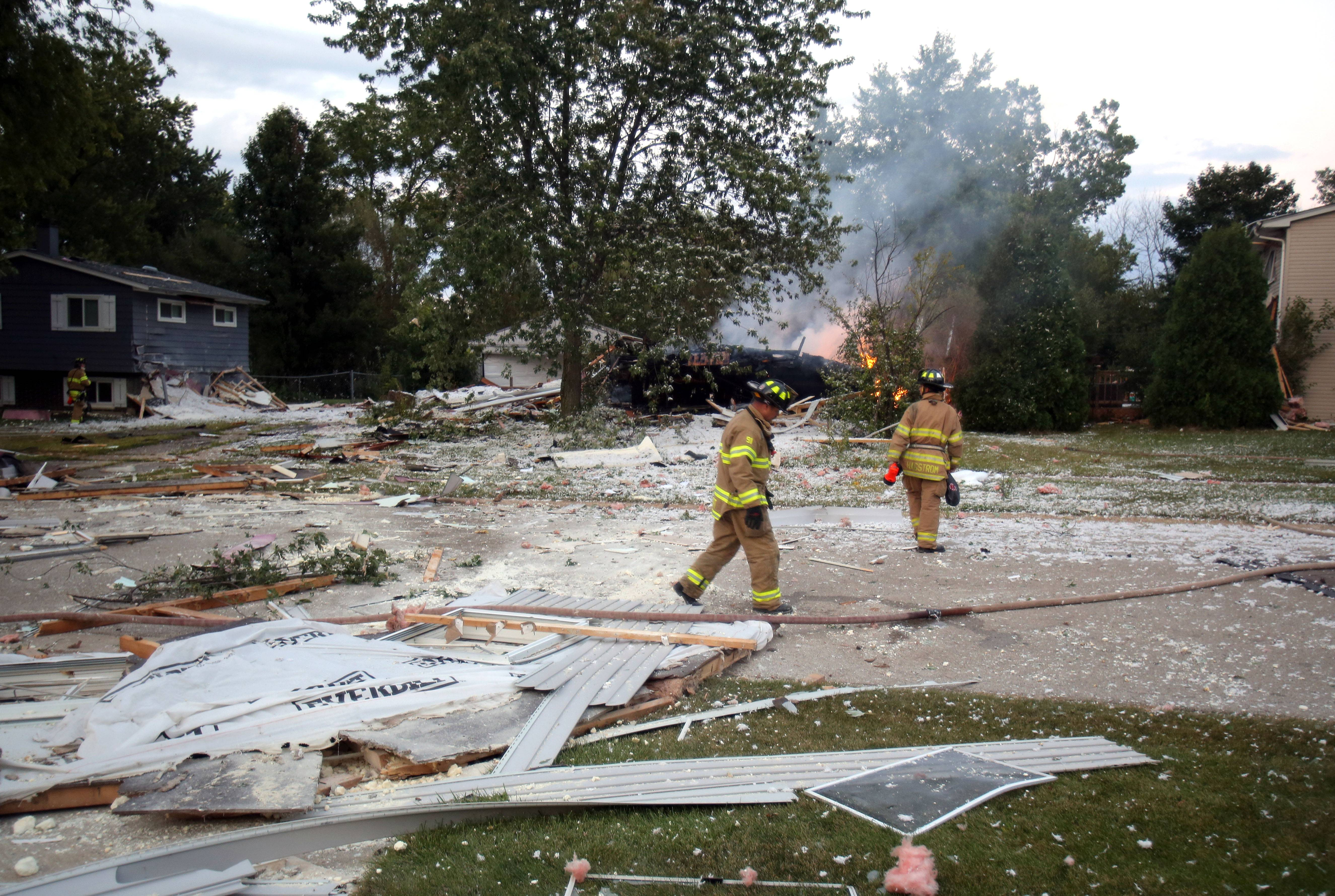 DNA testing that could take months is needed to positively identify a man found dead in the rubble of a Gurnee-area home that exploded Friday, Lake County Coroner Howard Cooper says.
